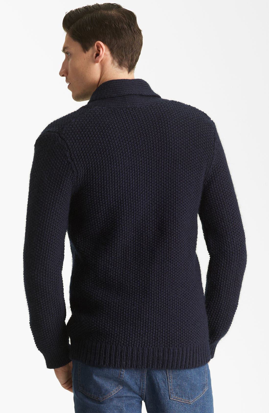 Alternate Image 2  - A.P.C. Shawl Collar Cardigan