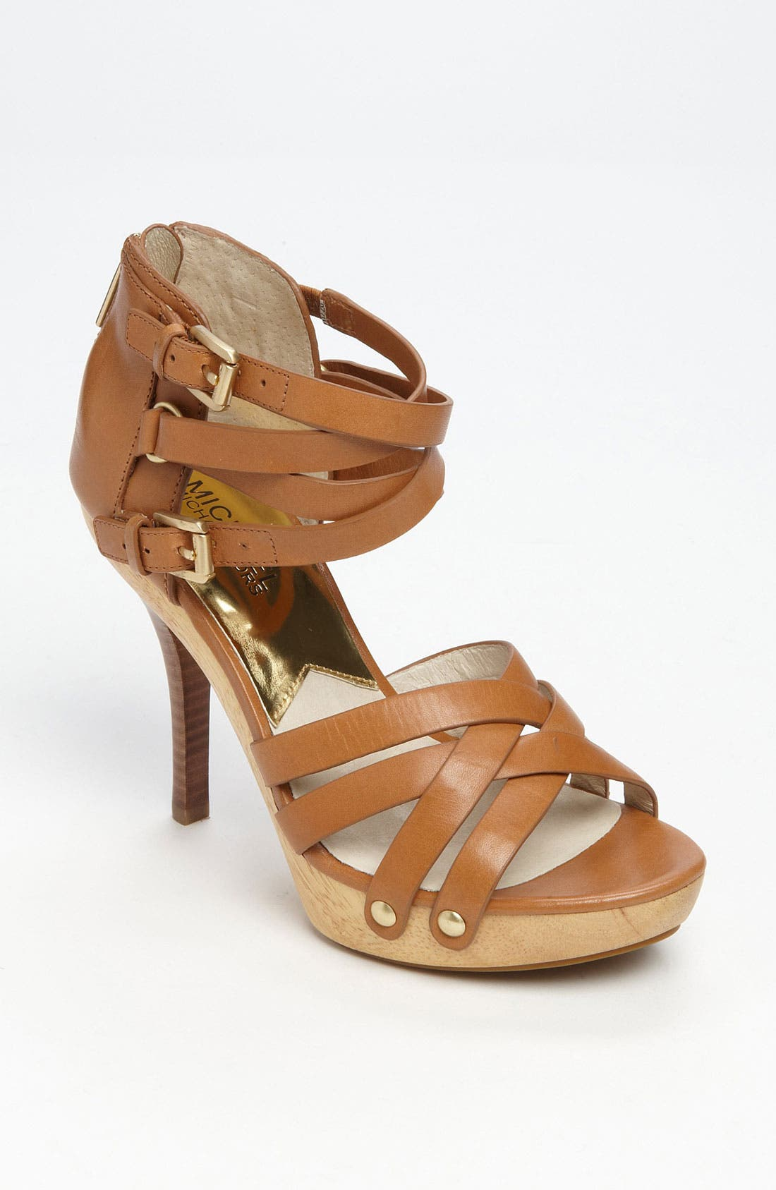 Alternate Image 1 Selected - MICHAEL Michael Kors 'Leonia' Sandal