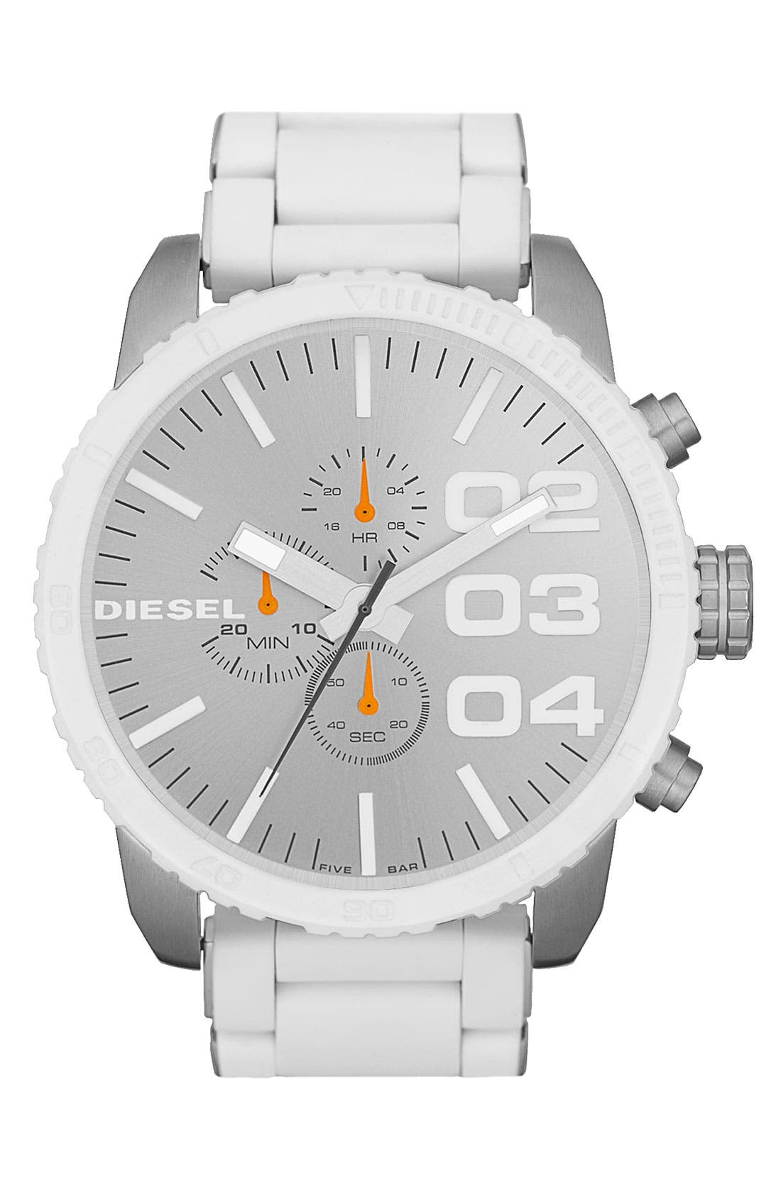 Main Image - DIESEL® 'Double Down' Large Chronograph Watch, 52mm