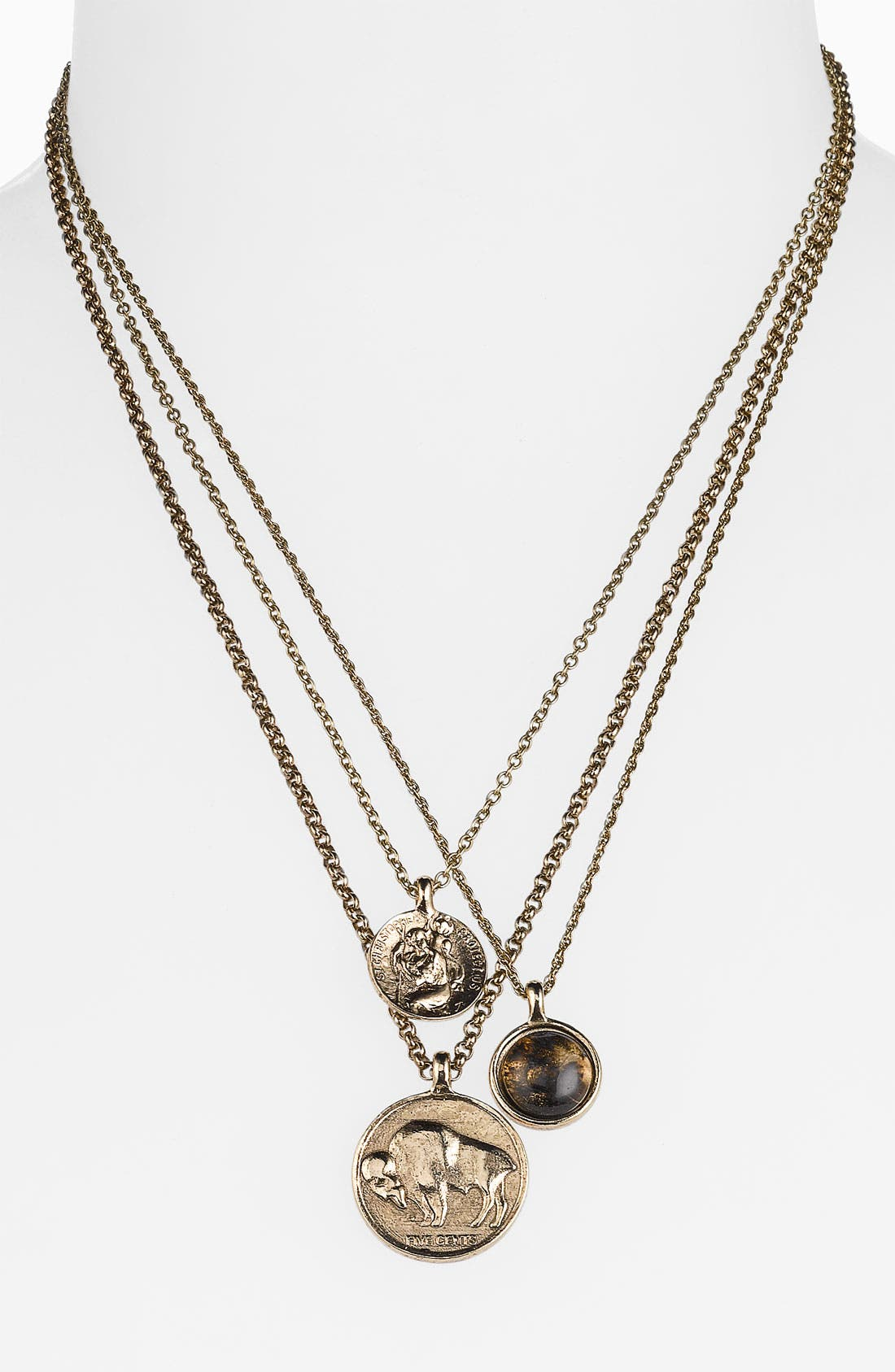 Main Image - Low Luv by Erin Wasson Triple Charm Necklace