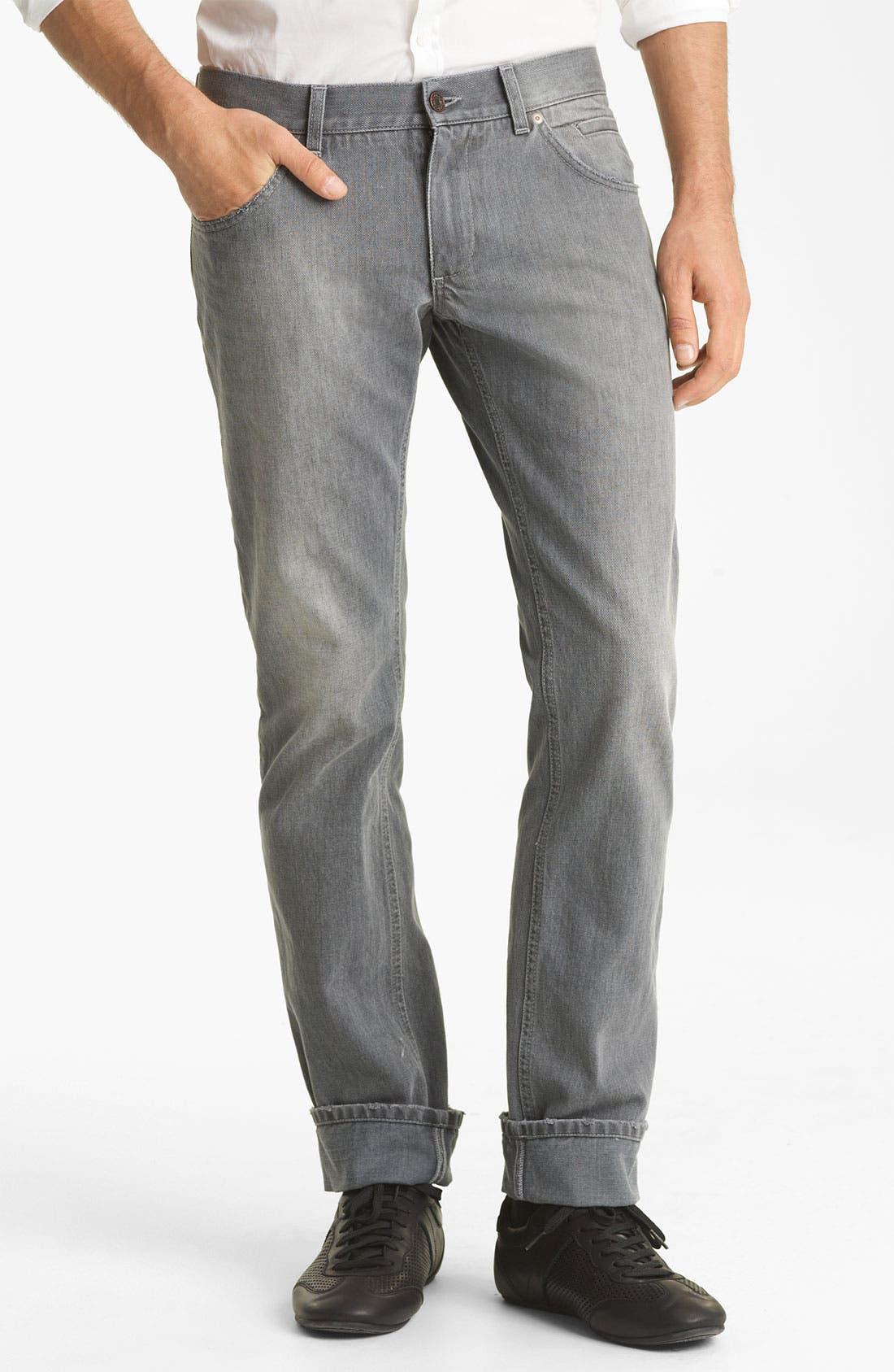 Alternate Image 2  - Dolce&Gabbana Slim Straight Leg Jeans