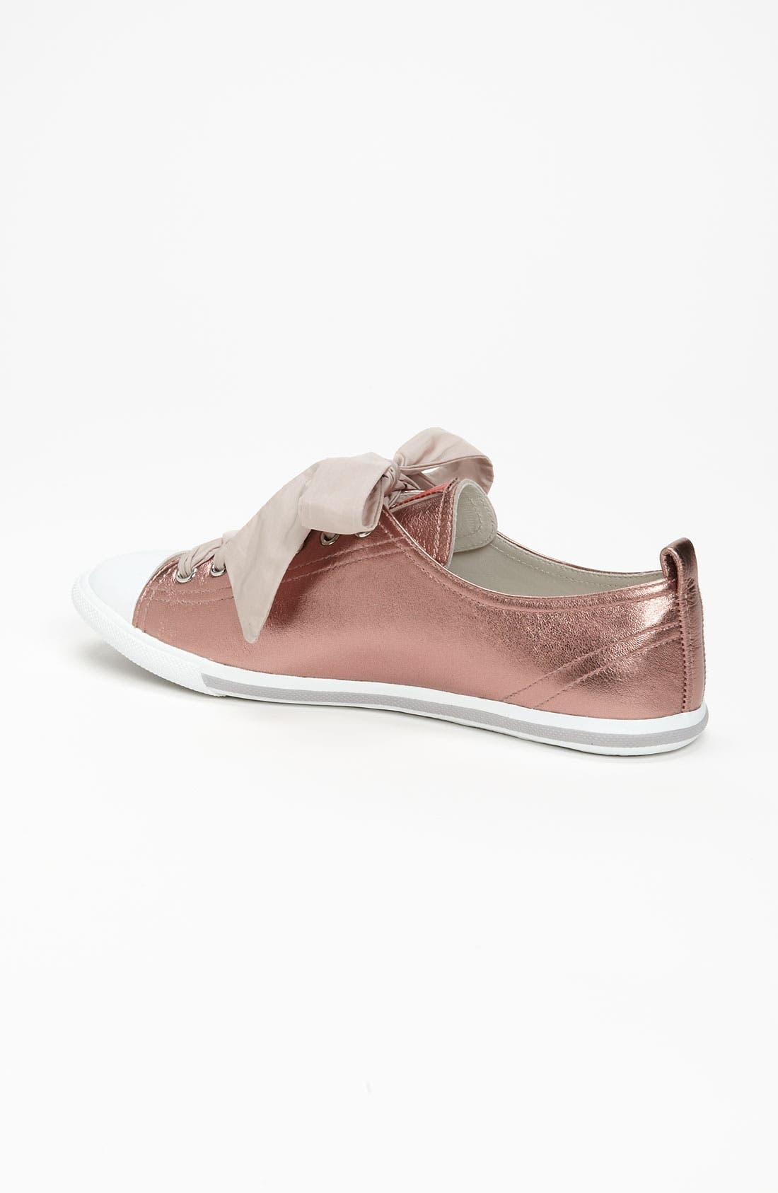 Alternate Image 2  - Prada Metallic Sneaker