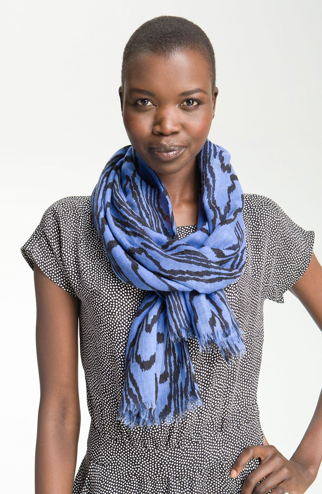 Main Image - Kelly Wearstler 'Marquetry' Silk & Wool Scarf