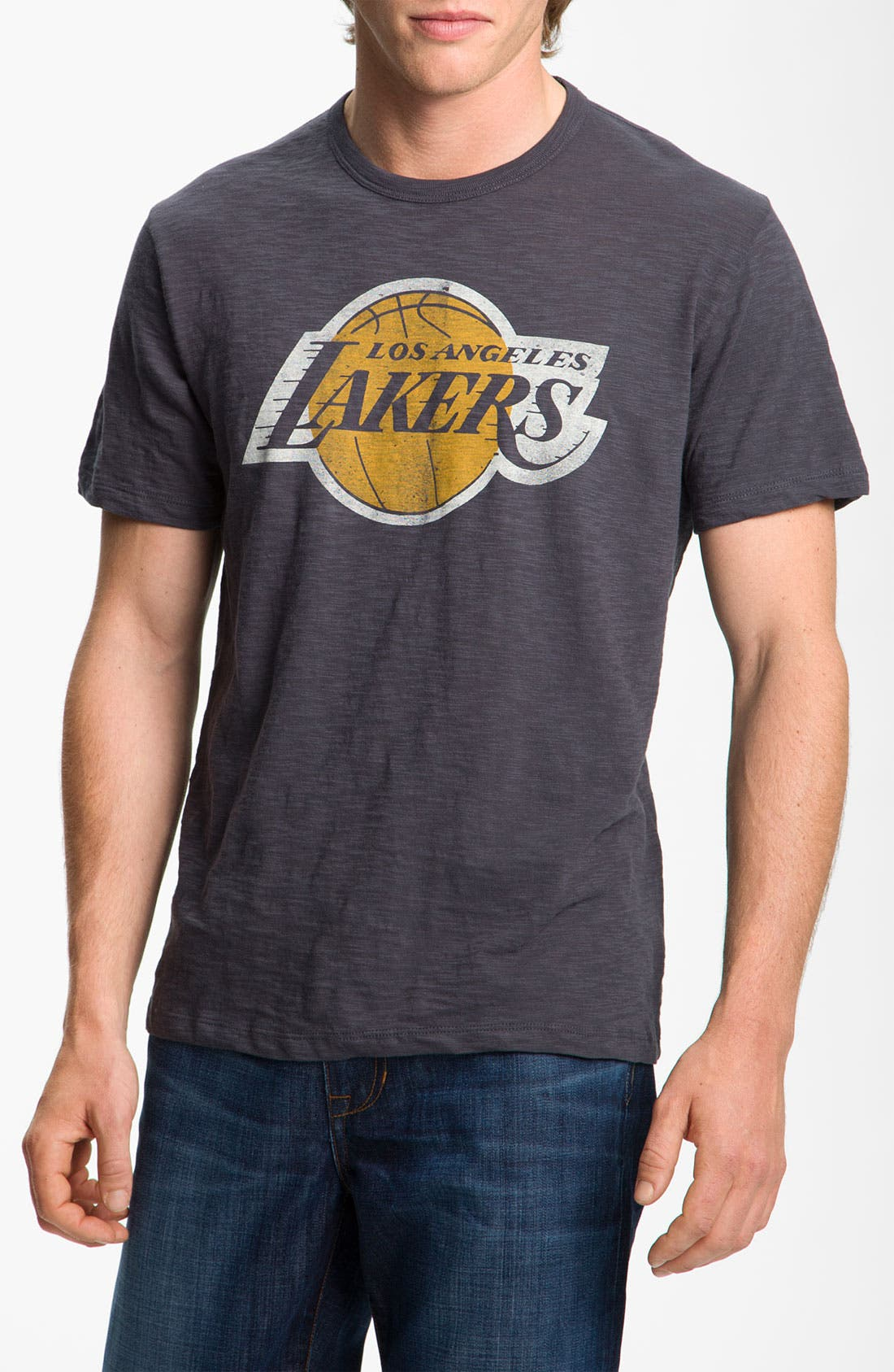 Alternate Image 1 Selected - Banner 47 'Lakers' Regular Fit Slubbed T-Shirt (Men)