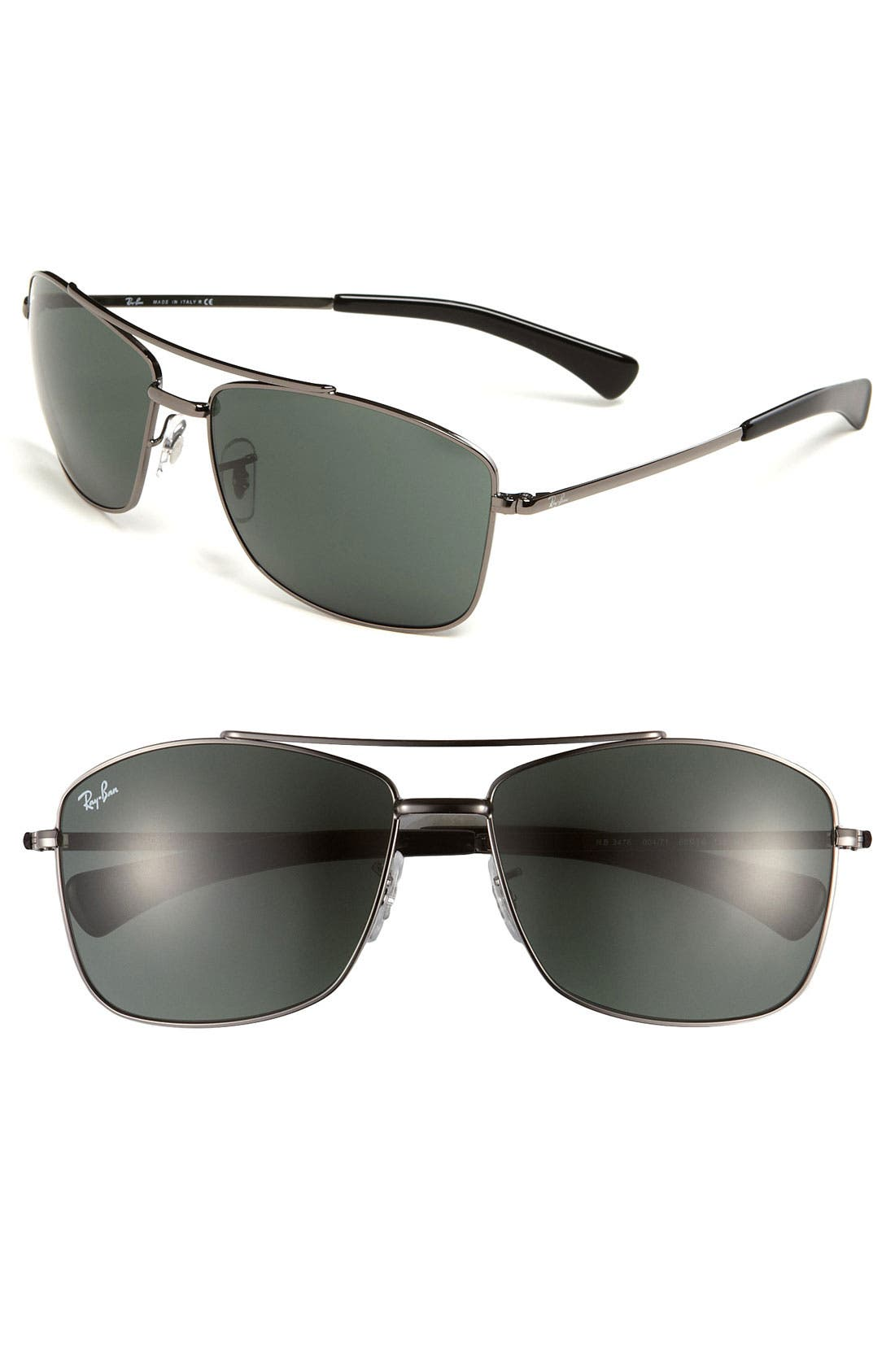 Main Image - Ray-Ban 60mm Aviator Sunglasses