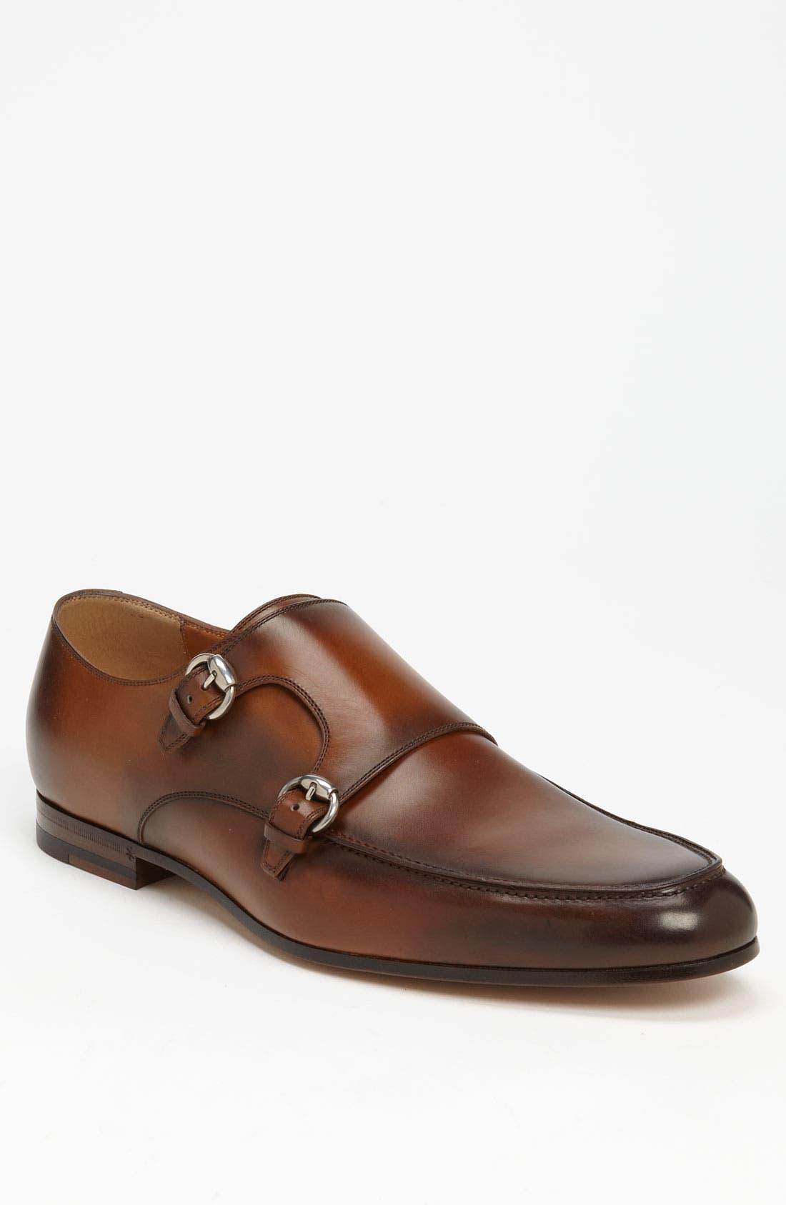 Alternate Image 1 Selected - Gucci 'Bonnard' Monk Strap Shoe