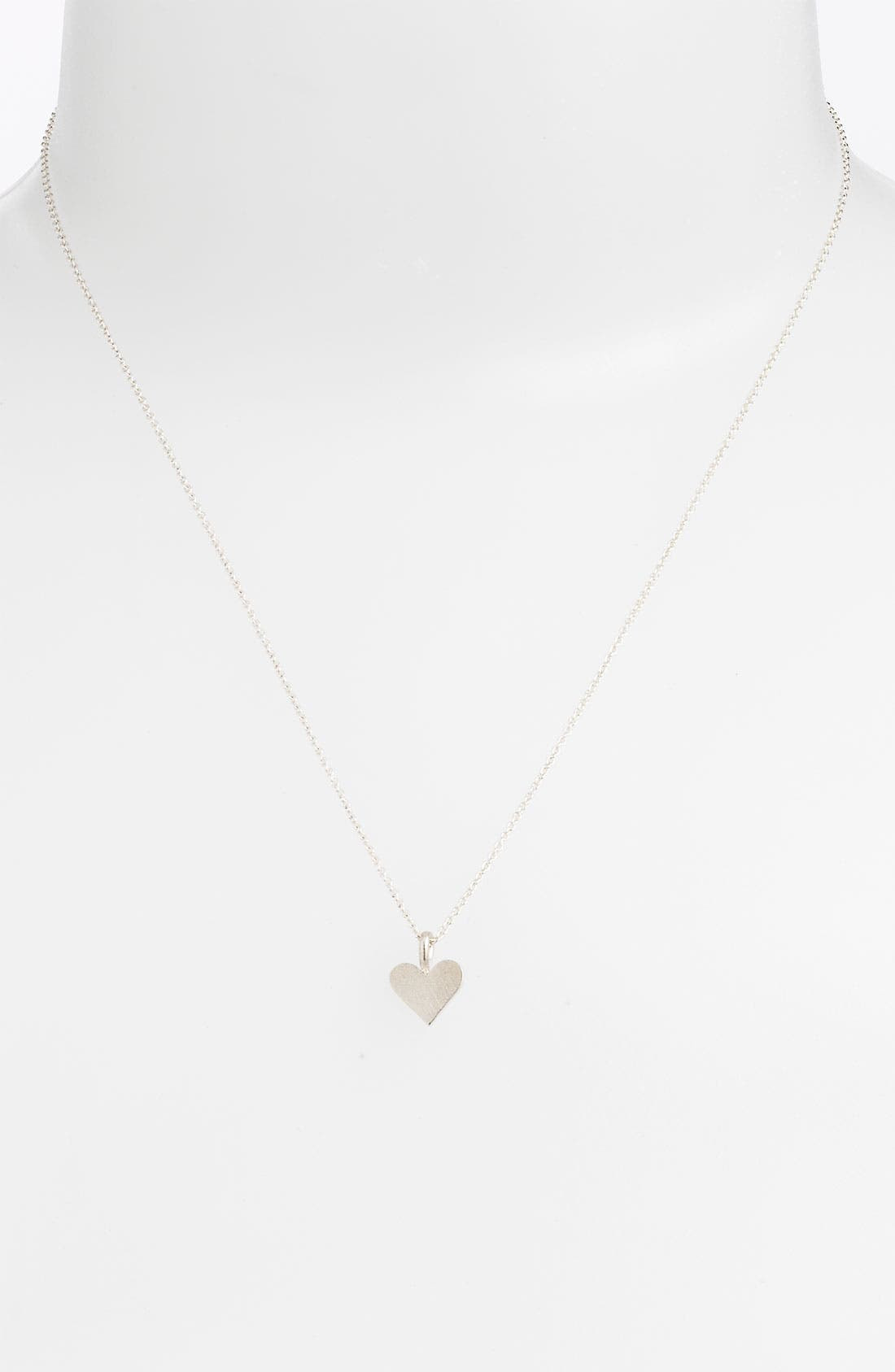 Alternate Image 2  - Dogeared 'Charmed - Heart' Pendant Necklace