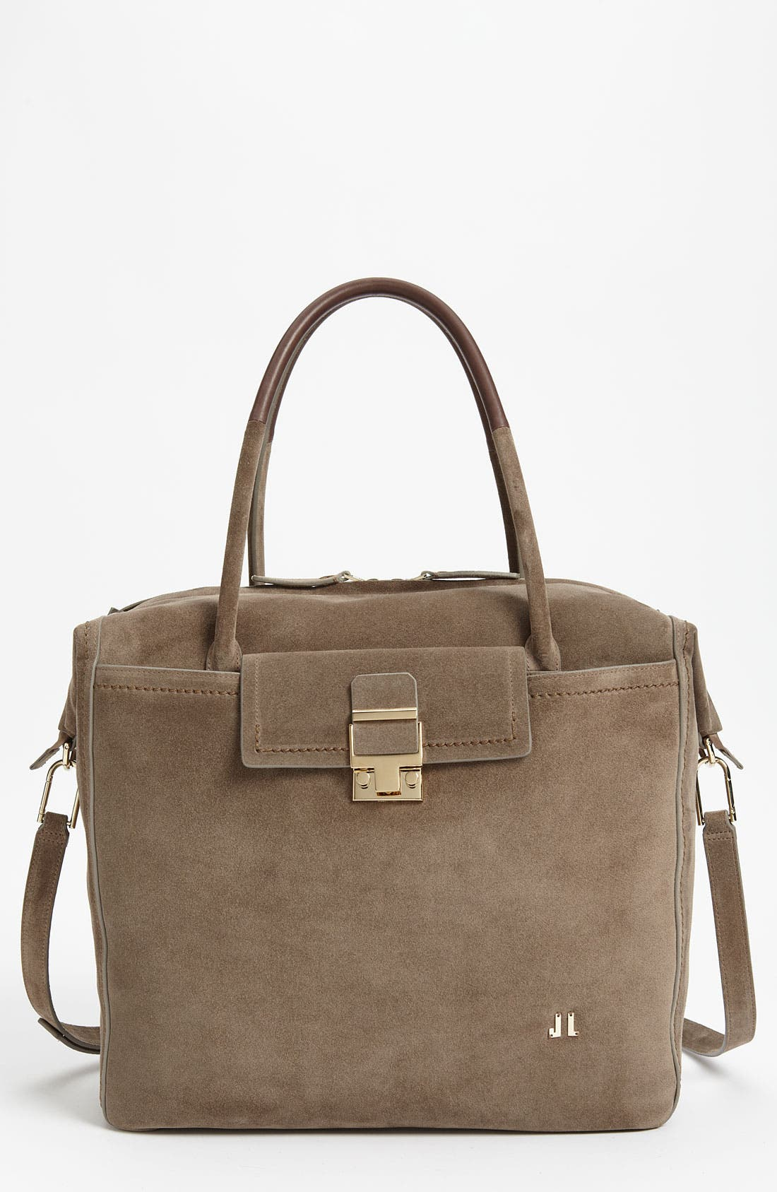 Alternate Image 1 Selected - Lanvin Suede Tote