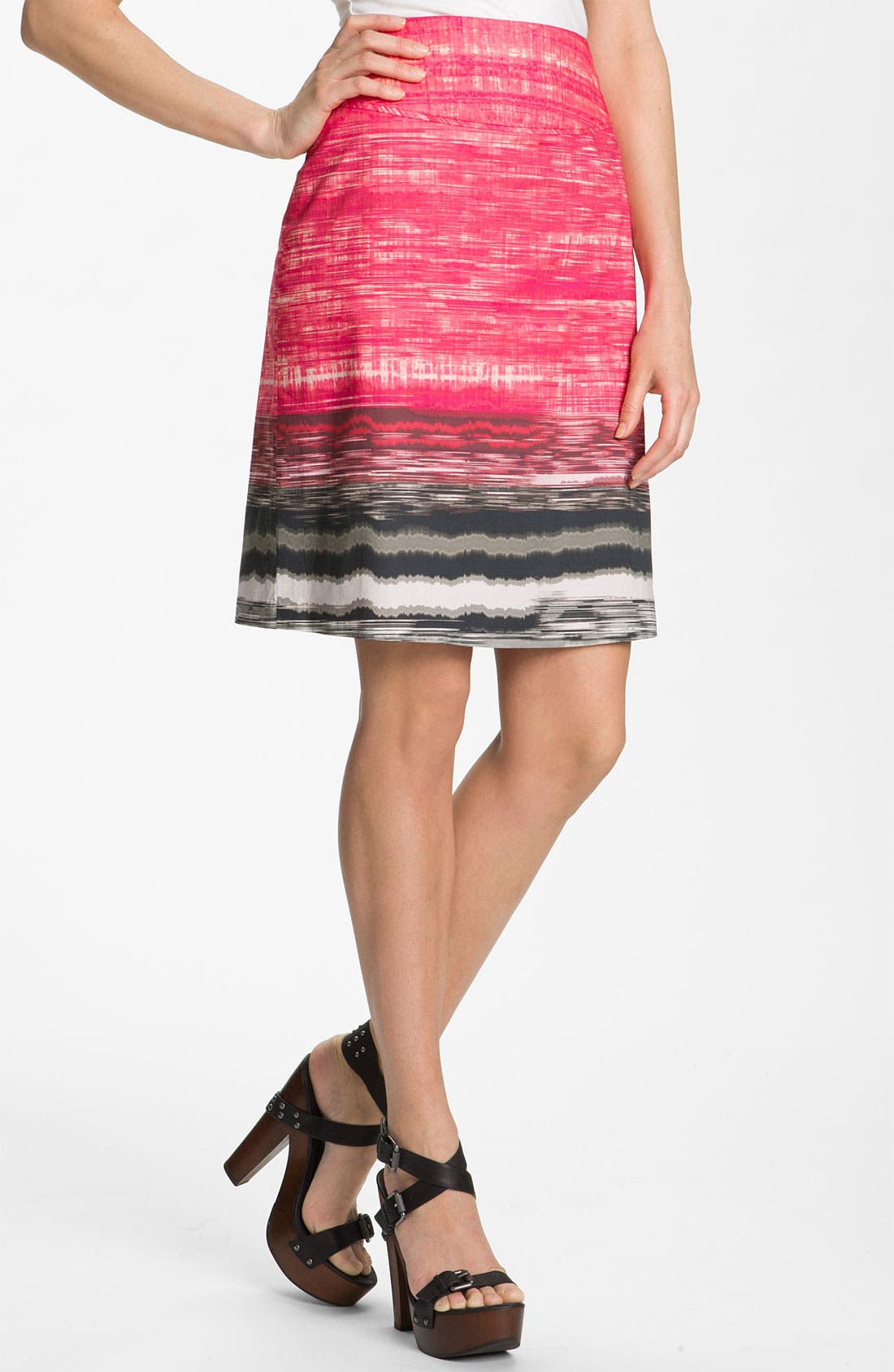Alternate Image 1 Selected - Elie Tahari Exclusive for Nordstrom 'Roni' A-Line Skirt