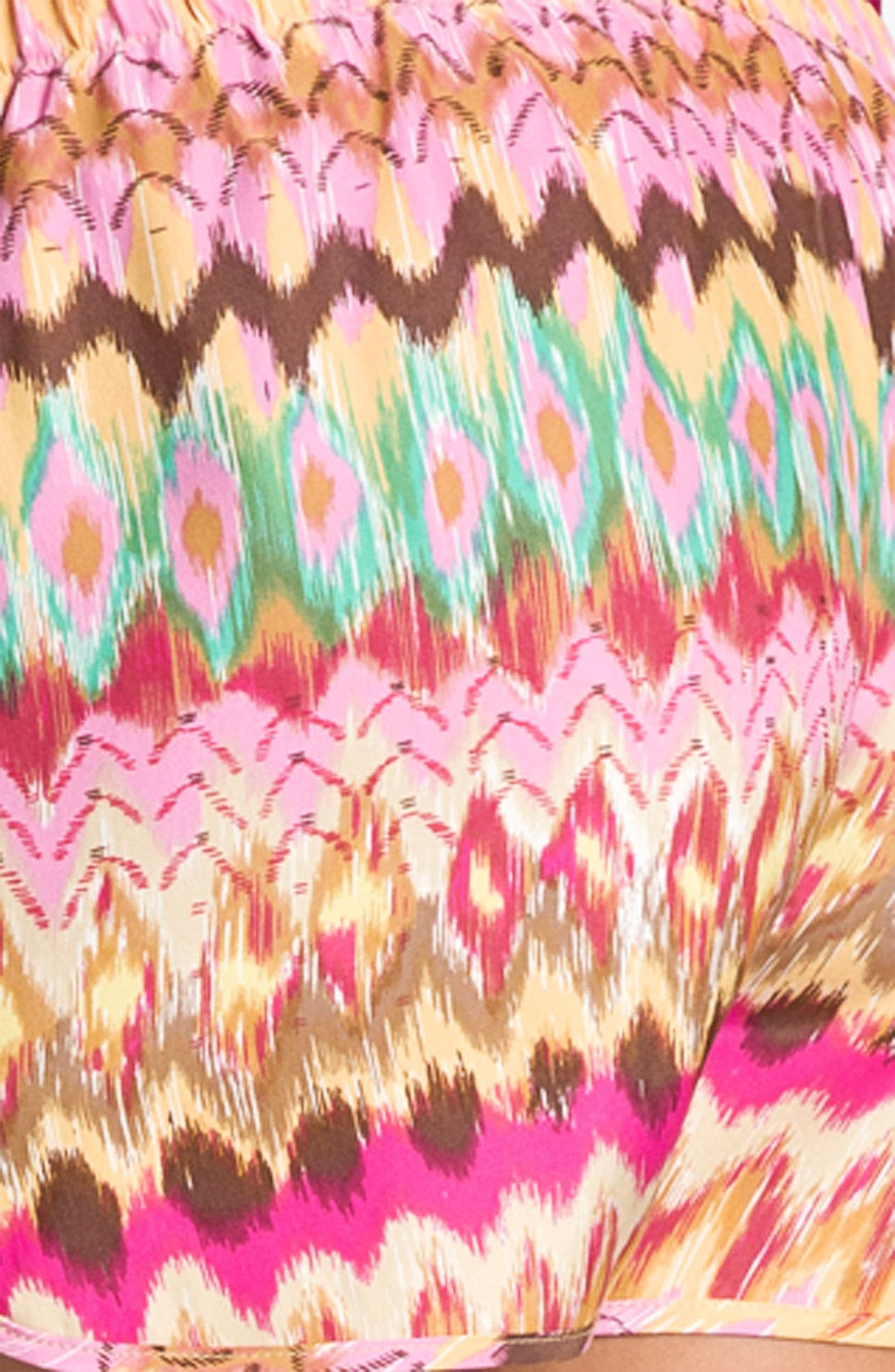 Alternate Image 3  - Haute Hippie Print Drawstring Shorts