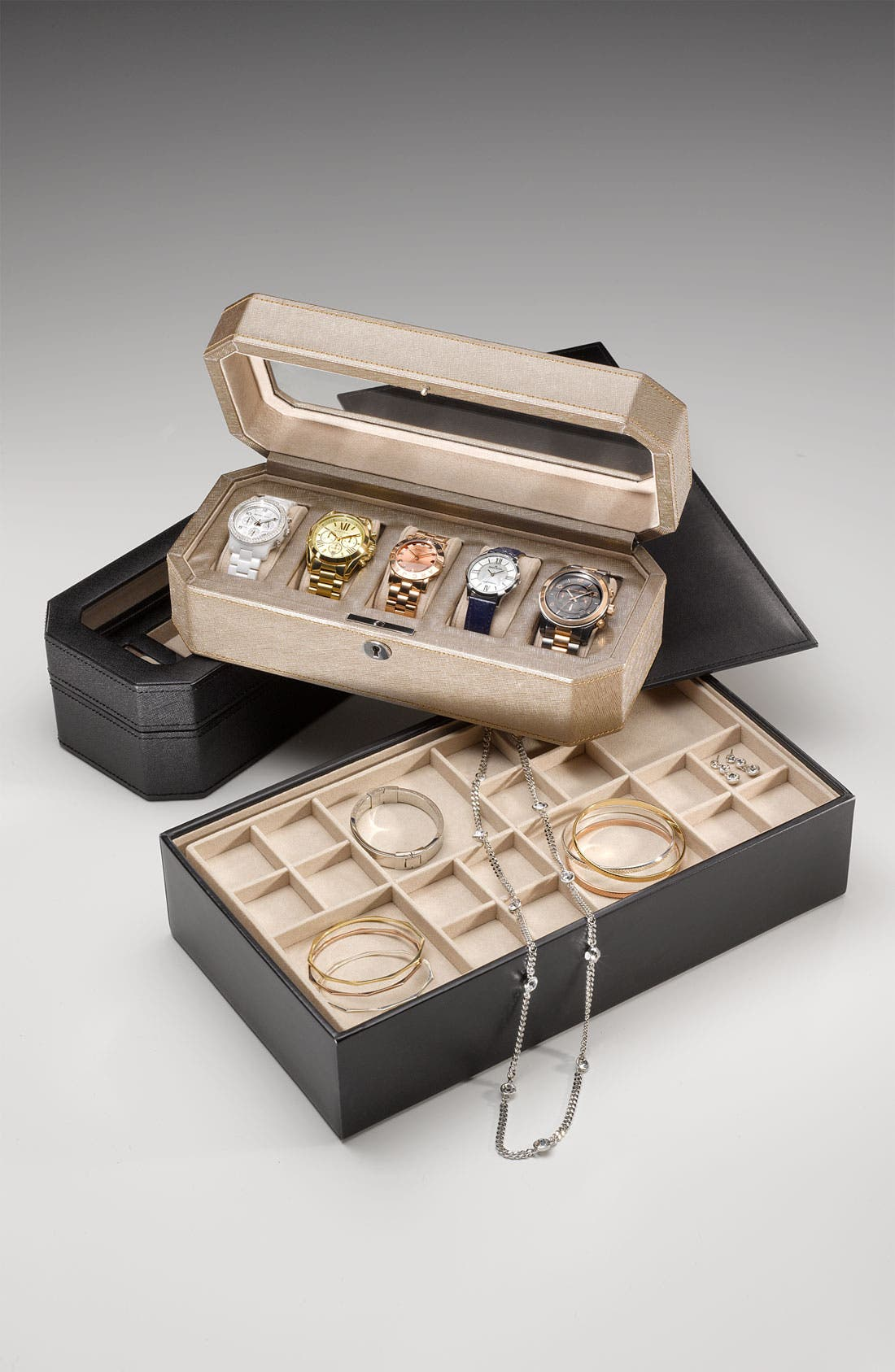 Alternate Image 2  - Nordstrom Stackable Jewelry Box