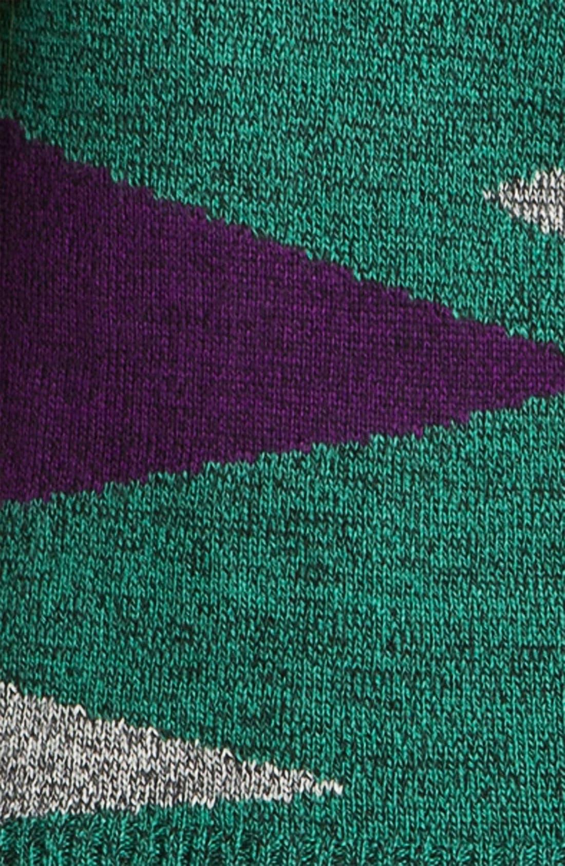 Alternate Image 3  - Love By Design Geometric Sweater (Juniors)
