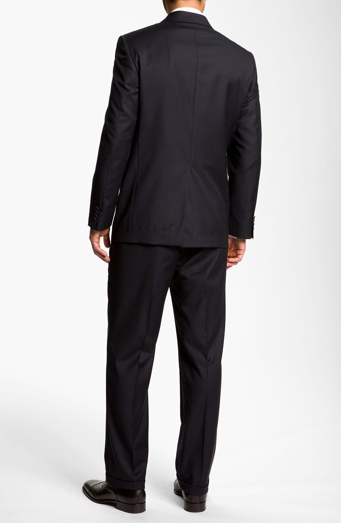 Alternate Image 3  - Joseph Abboud 'Signature Silver' Pinstripe Suit
