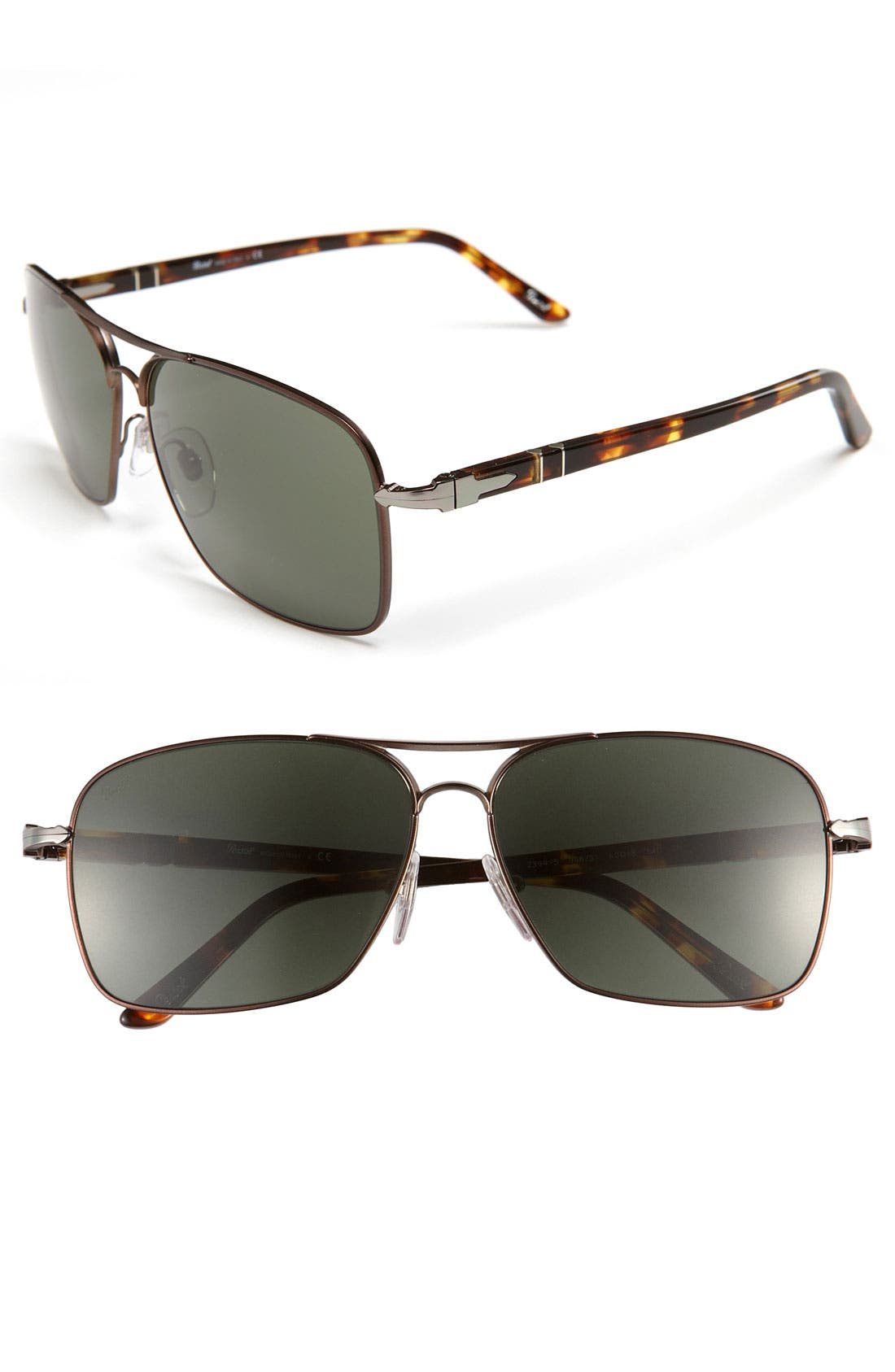 Alternate Image 1 Selected - Persol Metal Caravan Sunglasses