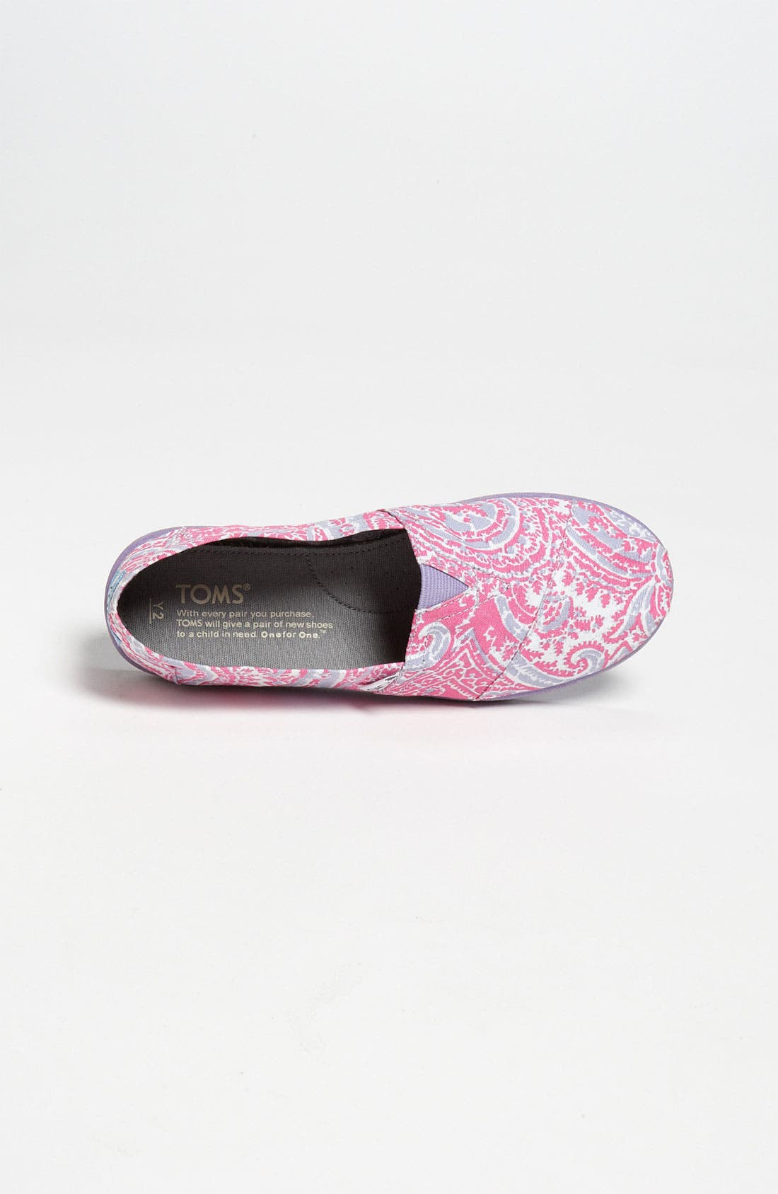 Alternate Image 3  - TOMS 'Classic Youth - Paisley' Slip-On (Toddler, Little Kid & Big Kid)