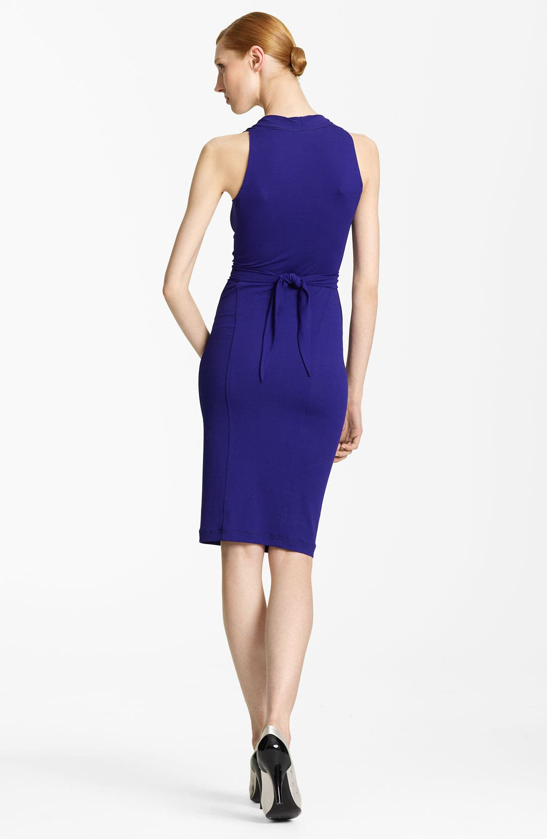 Alternate Image 2  - Donna Karan Collection Hardware Detail Jersey Dress