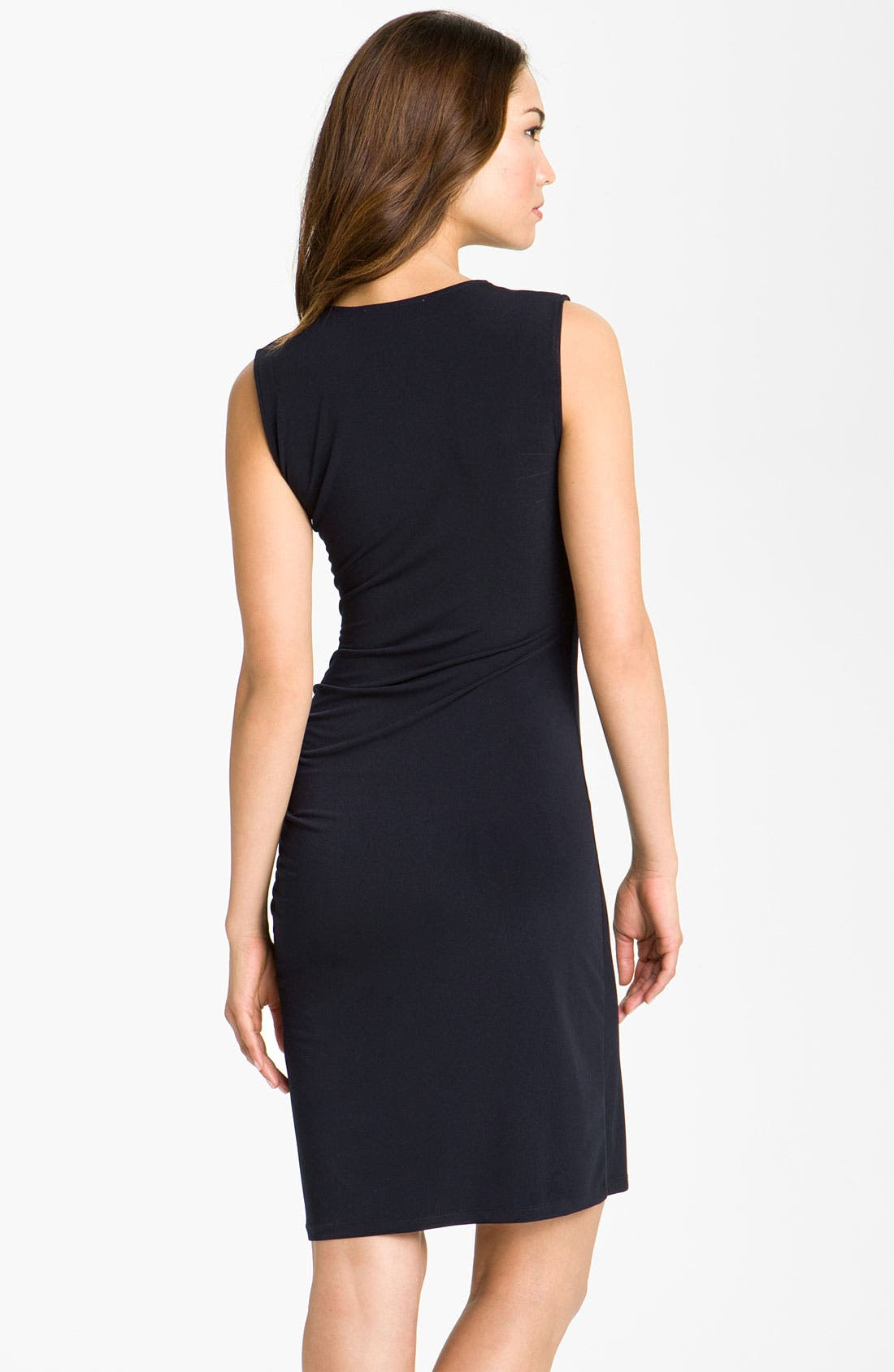 Alternate Image 2  - MICHAEL Michael Kors Sweetheart Knit Dress (Petite)