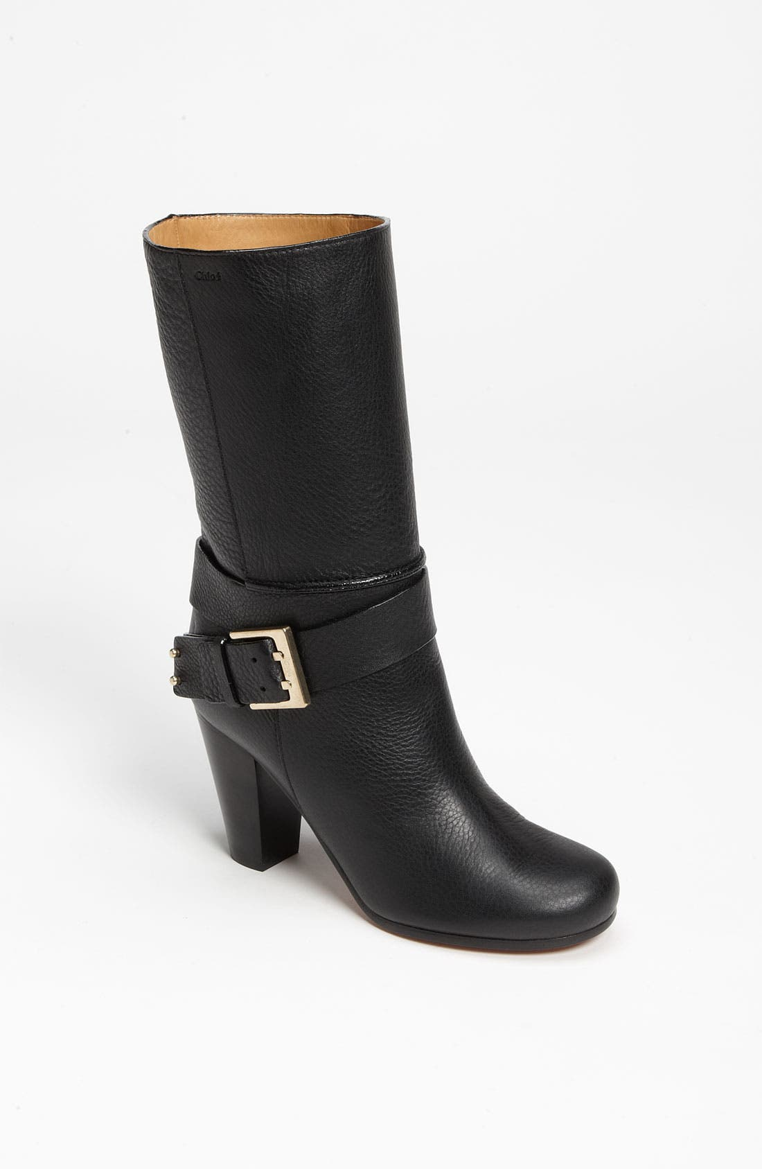Alternate Image 1 Selected - Chloé Mid Buckle Boot