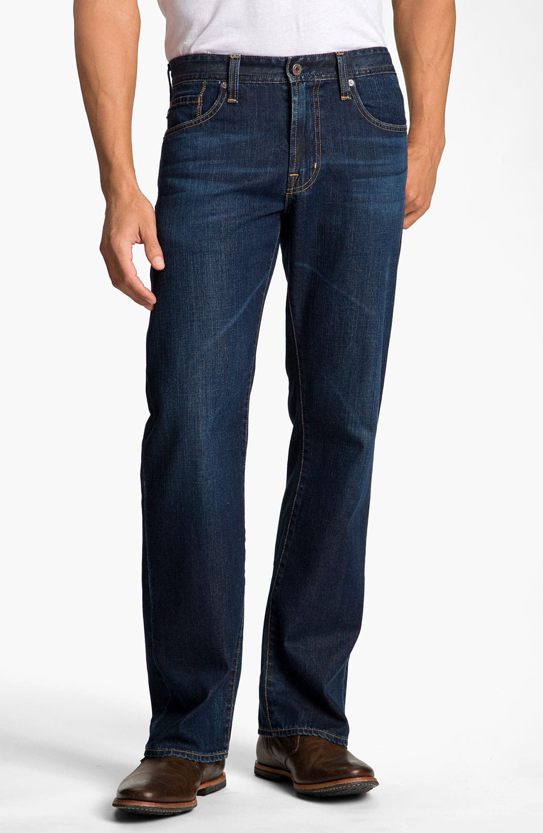 Alternate Image 1 Selected - AG Jeans 'Hero' Relaxed Fit Jeans (Vanguard)