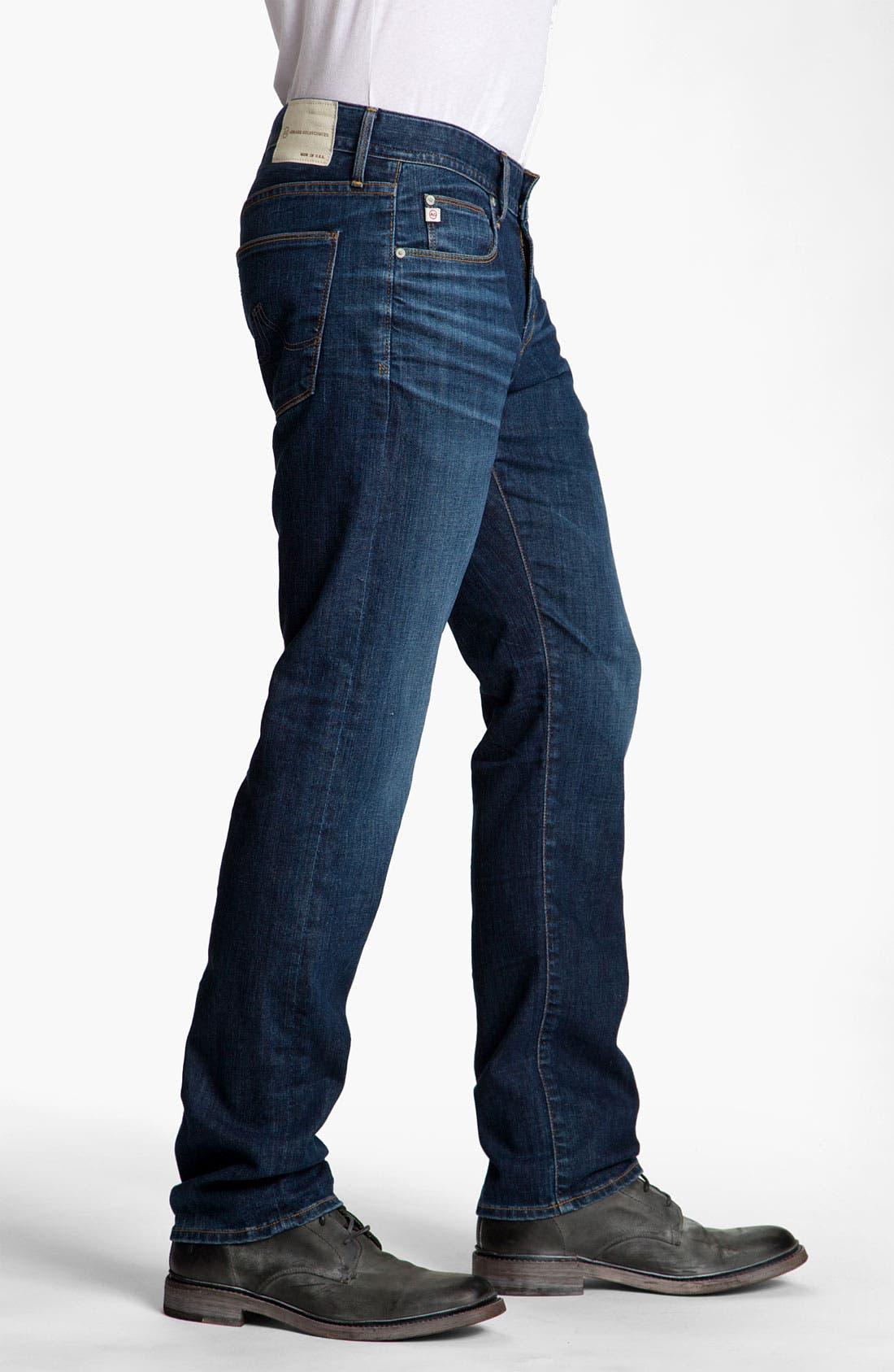 Alternate Image 3  - AG Jeans 'Geffen' Easy Slim Straight Leg Jeans (Seven Year)