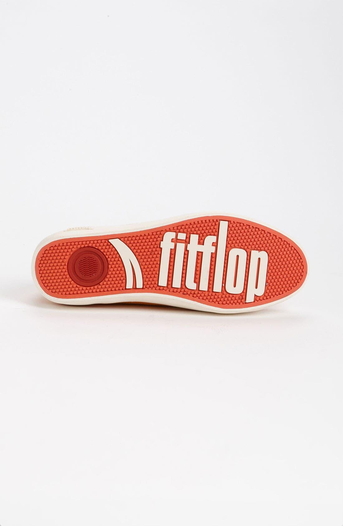 Alternate Image 4  - FitFlop 'Super T™' Canvas Sneaker