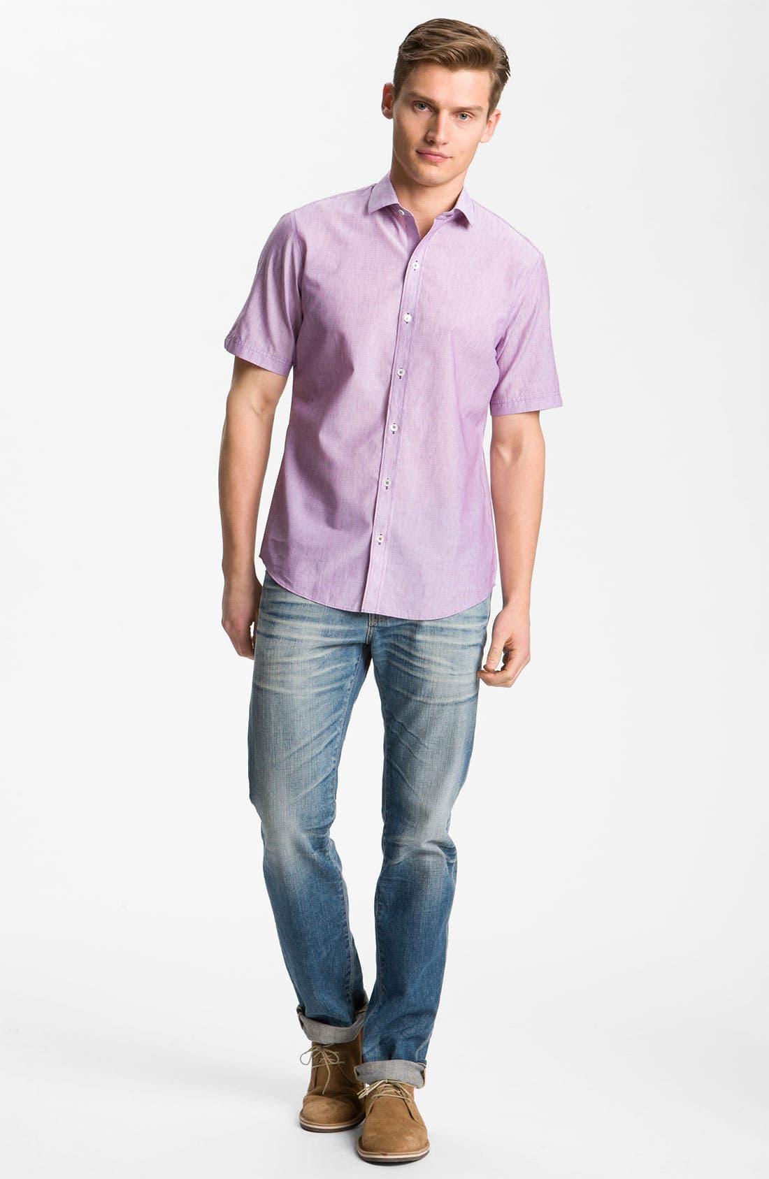 Alternate Image 4  - Zachary Prell 'Jeremy' Sport Shirt