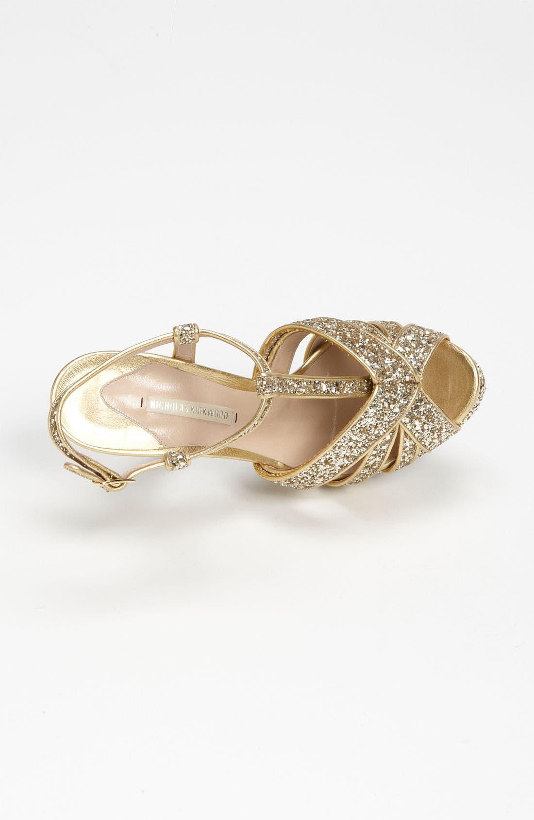 Alternate Image 3  - Nicholas Kirkwood Glitter Sandal