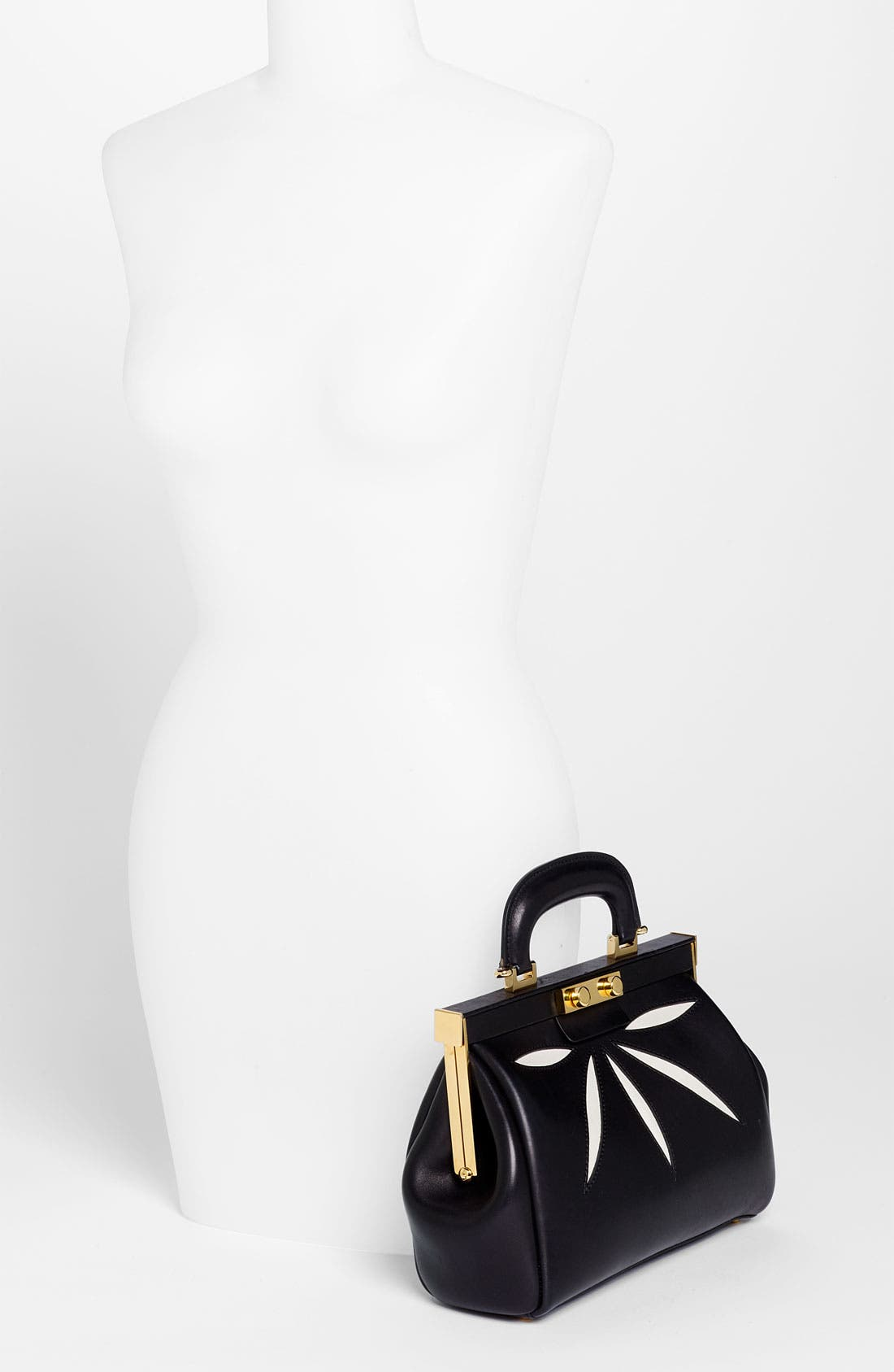 Alternate Image 2  - Marni 'Mini' Leather Frame Bag