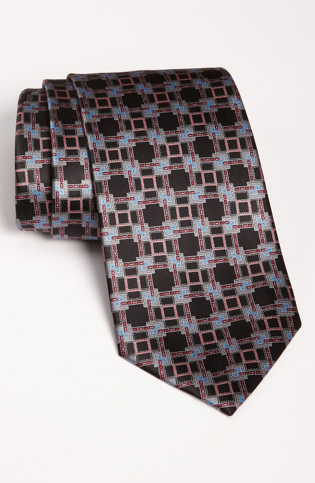 Main Image - Ermenegildo Zegna Print Silk Tie