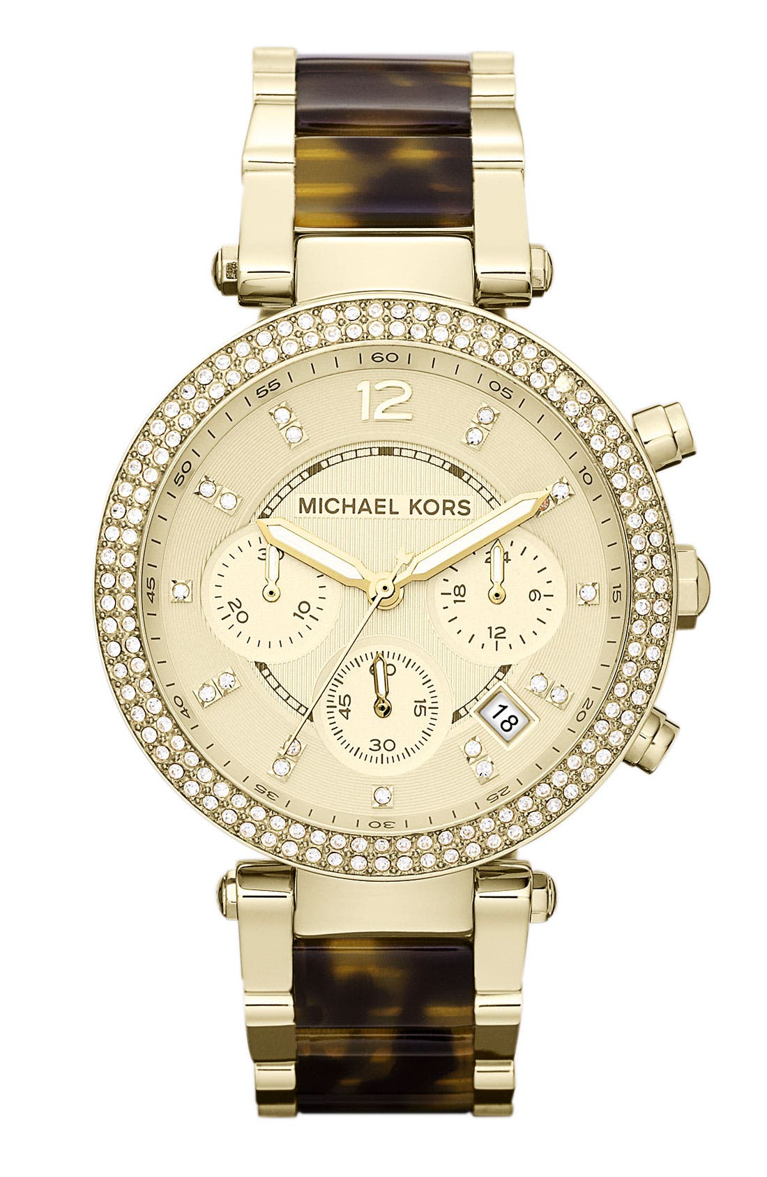 Alternate Image 1 Selected - Michael Kors 'Parker' Chronograph Watch, 39mm