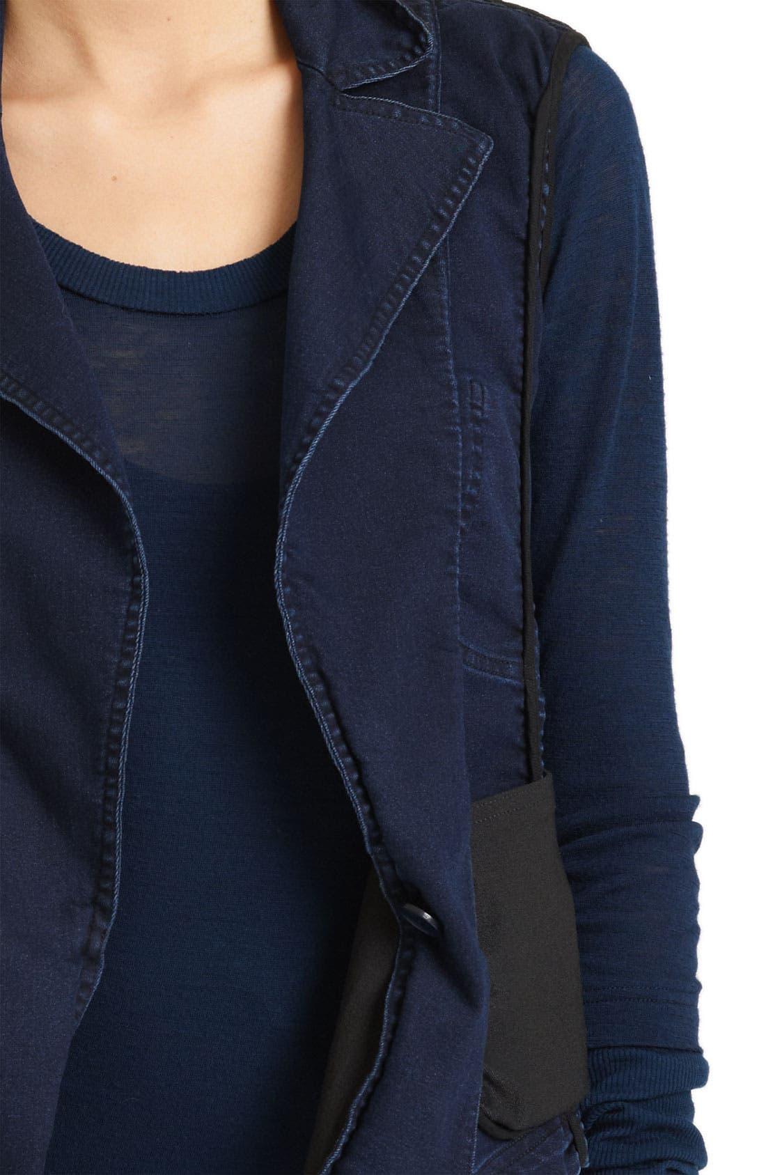 Alternate Image 3  - Donna Karan Collection Stretch Denim Vest