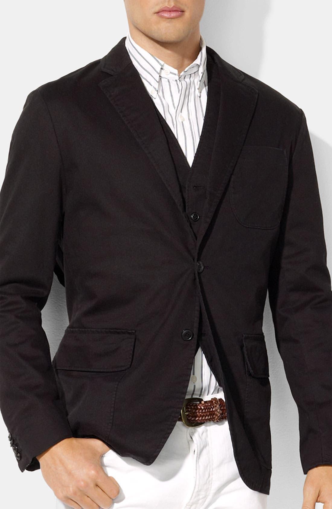Main Image - Polo Ralph Lauren 'Leverett' Classic Fit Sportcoat