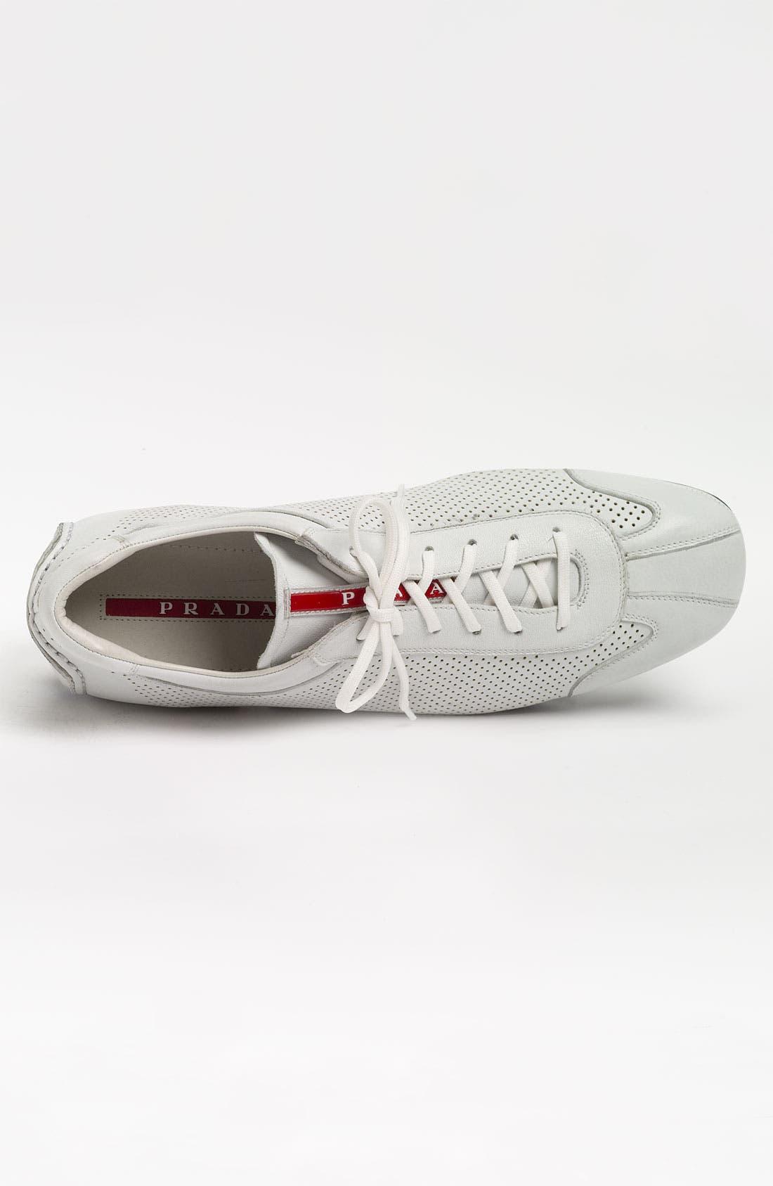 Alternate Image 3  - Prada Perforated Sneaker