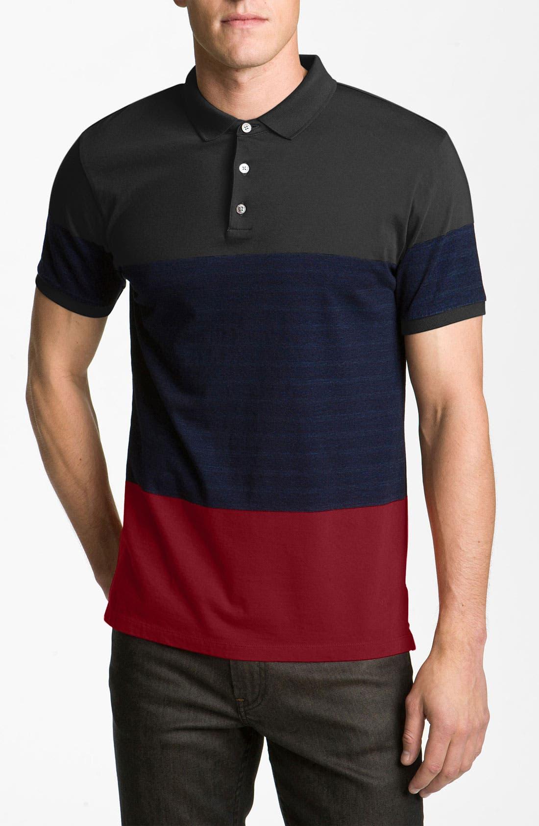 Alternate Image 1 Selected - MARC BY MARC JACOBS Colorblock Polo