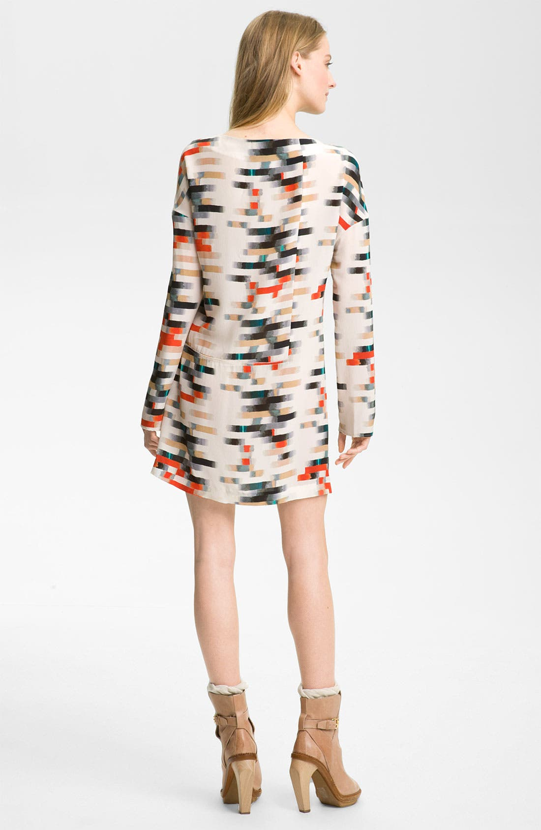 Alternate Image 2  - Cacharel Print Silk Dress