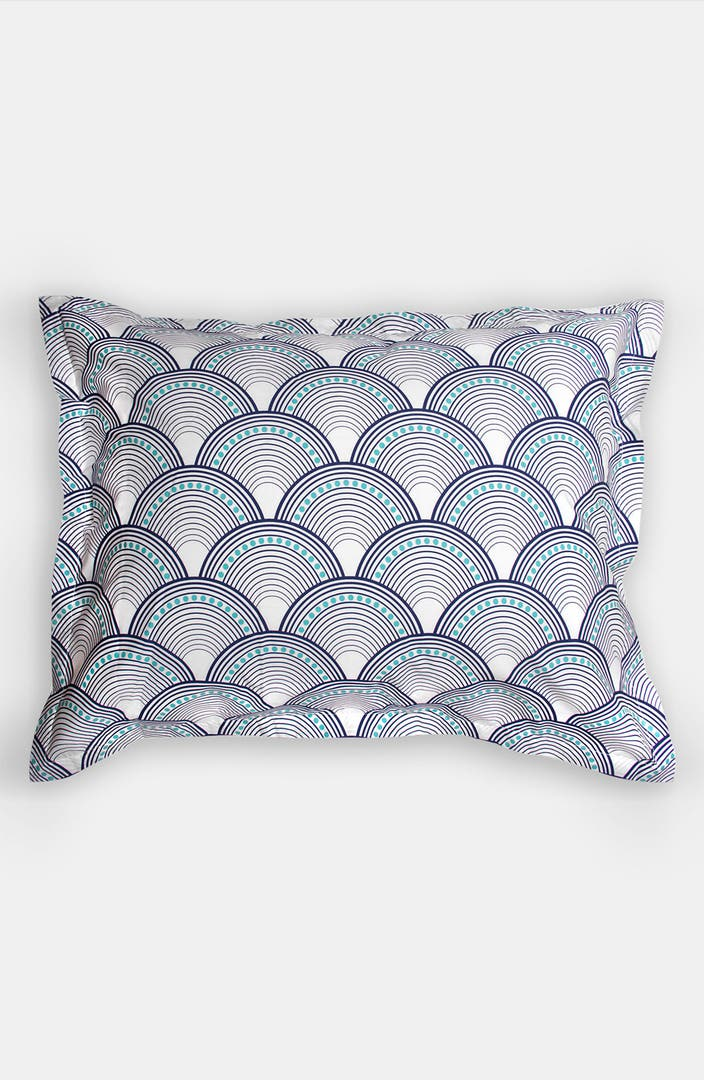 Jonathan adler 39 fish scales 39 400 thread count pillow sham for H m fish count