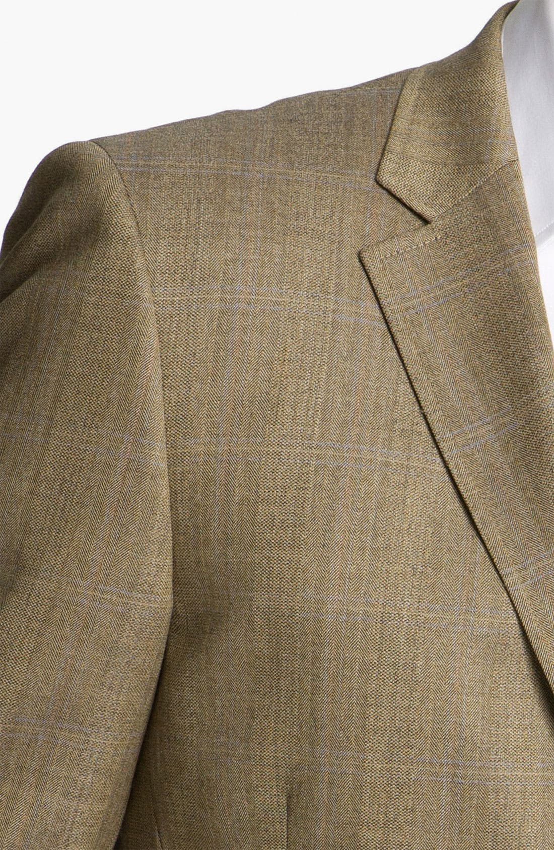 Alternate Image 3  - Di Milano Uomo Plaid Sportcoat