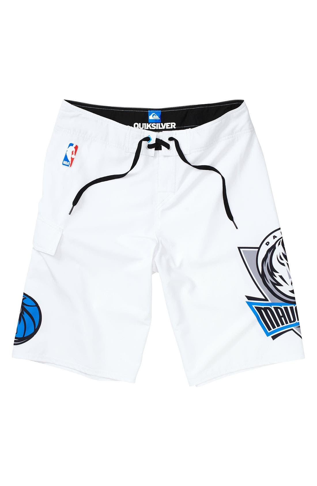 Alternate Image 1 Selected - Quiksilver 'Dallas Mavericks' Board Shorts (Big Boys)