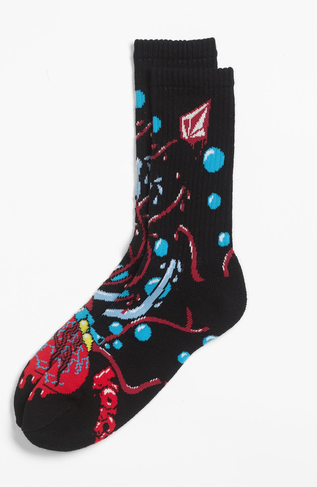 Alternate Image 1 Selected - Volcom 'Puppet' Socks (Big Boys)