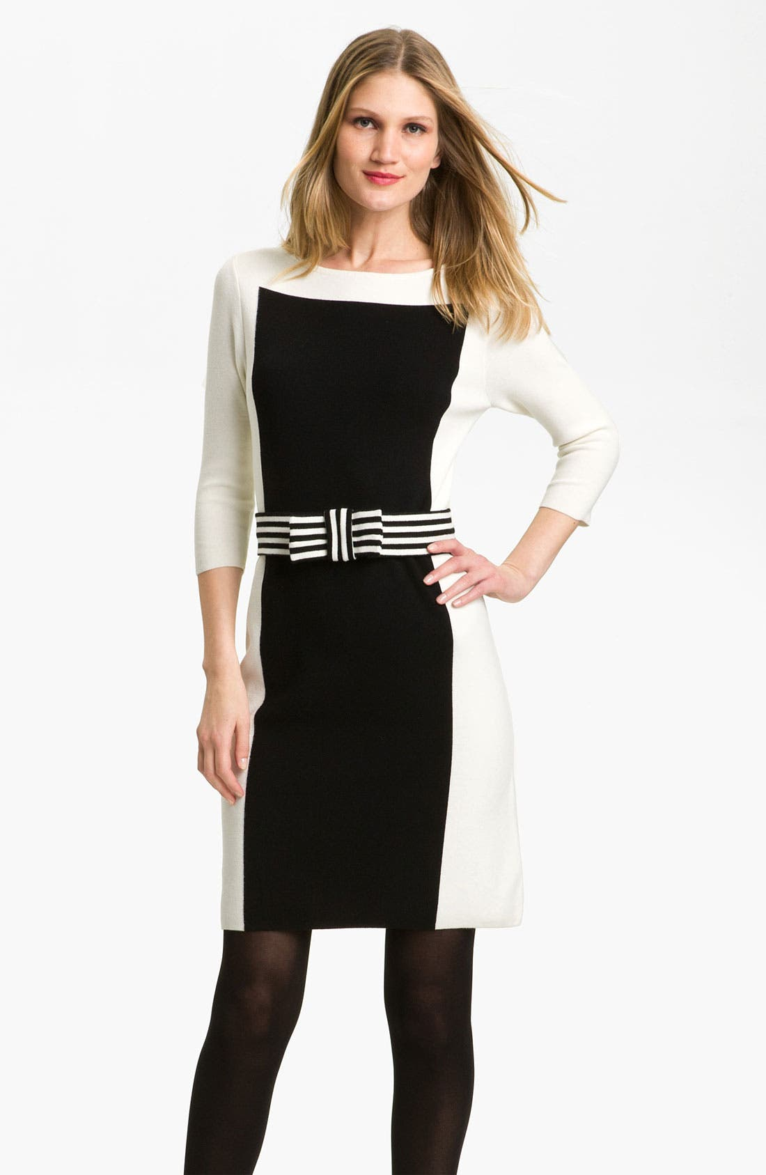 Alternate Image 1 Selected - Milly Intarsia Sweater Dress