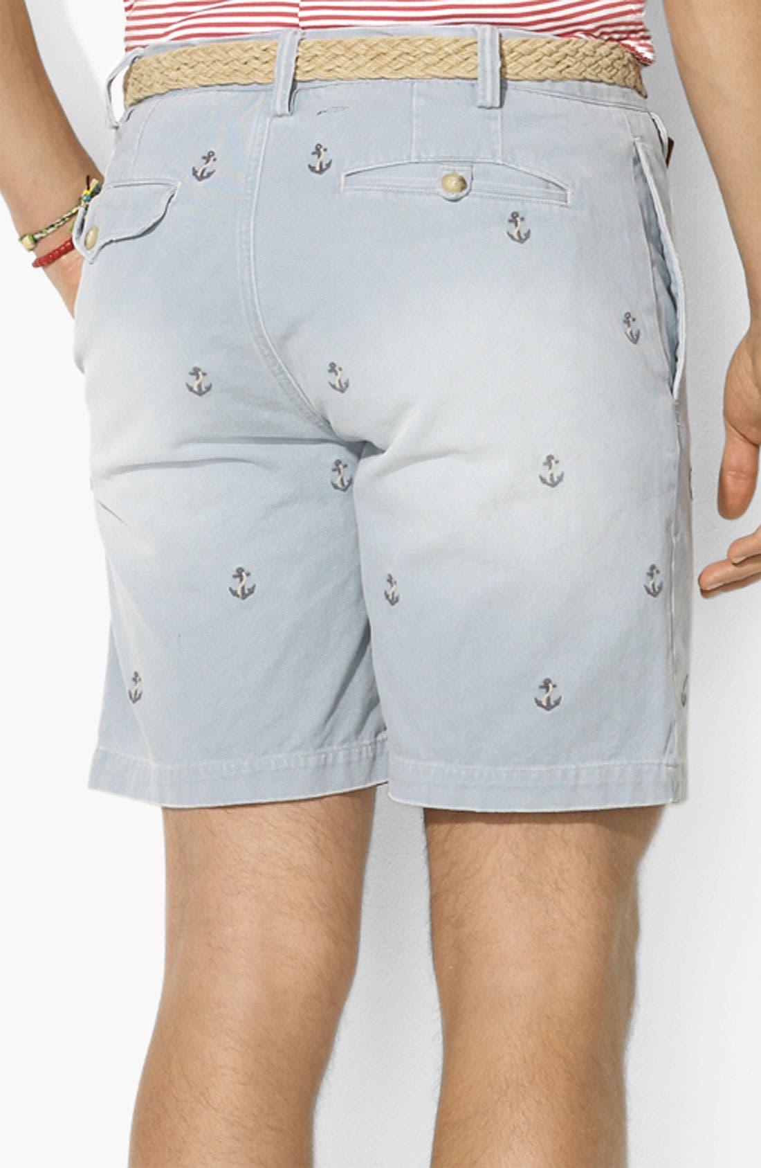 Alternate Image 2  - Polo Ralph Lauren Flat Front Shorts