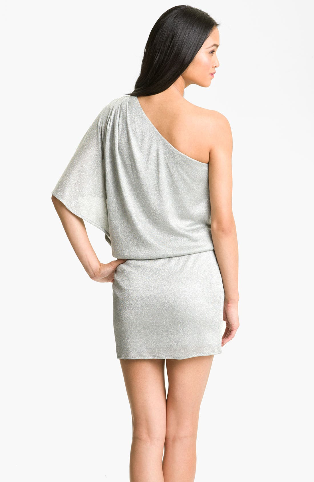 Alternate Image 2  - JS Boutique Metallic Knit Dress