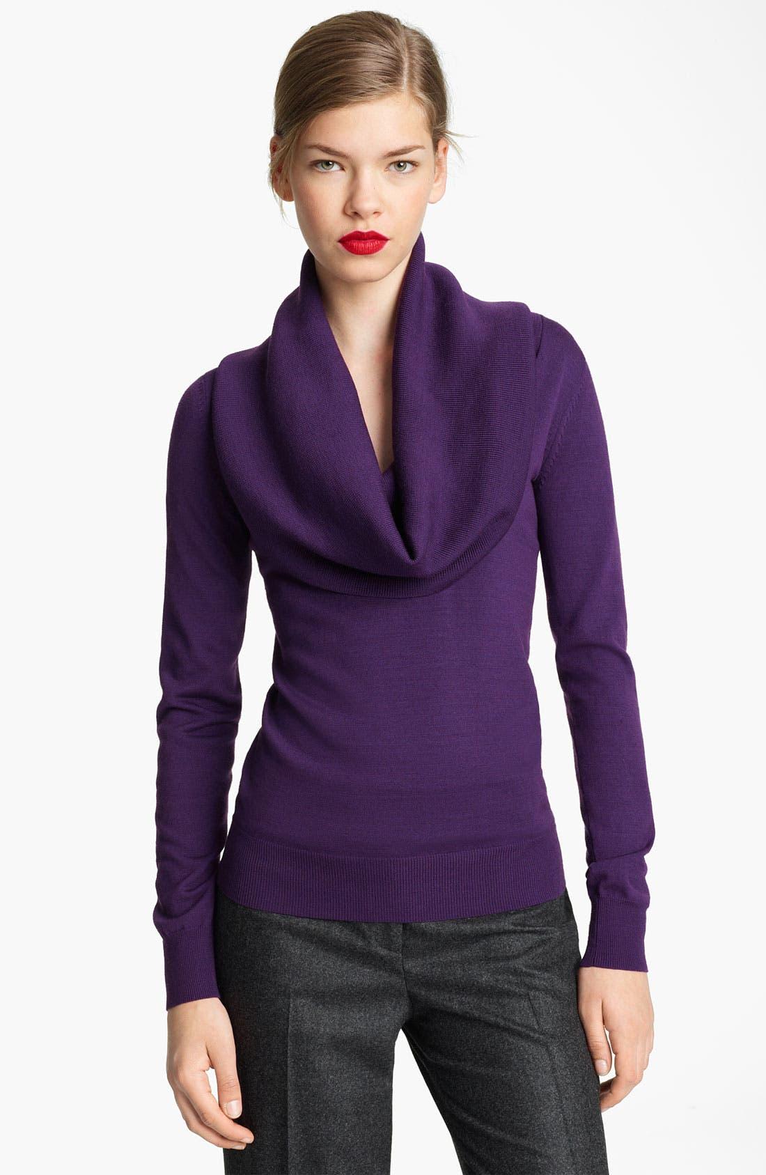 Alternate Image 1 Selected - Michael Kors Cowl Neck Merino Wool Sweater