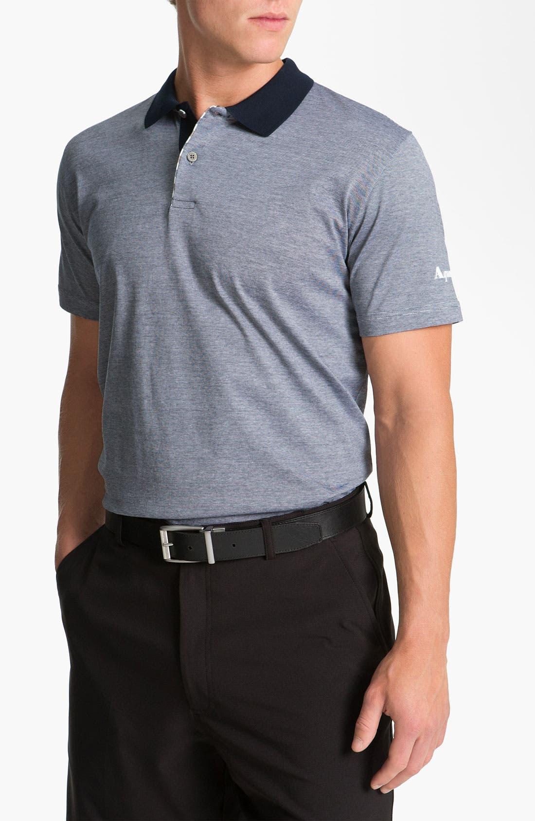 Main Image - Aquascutum Golf Mercerized Cotton Polo