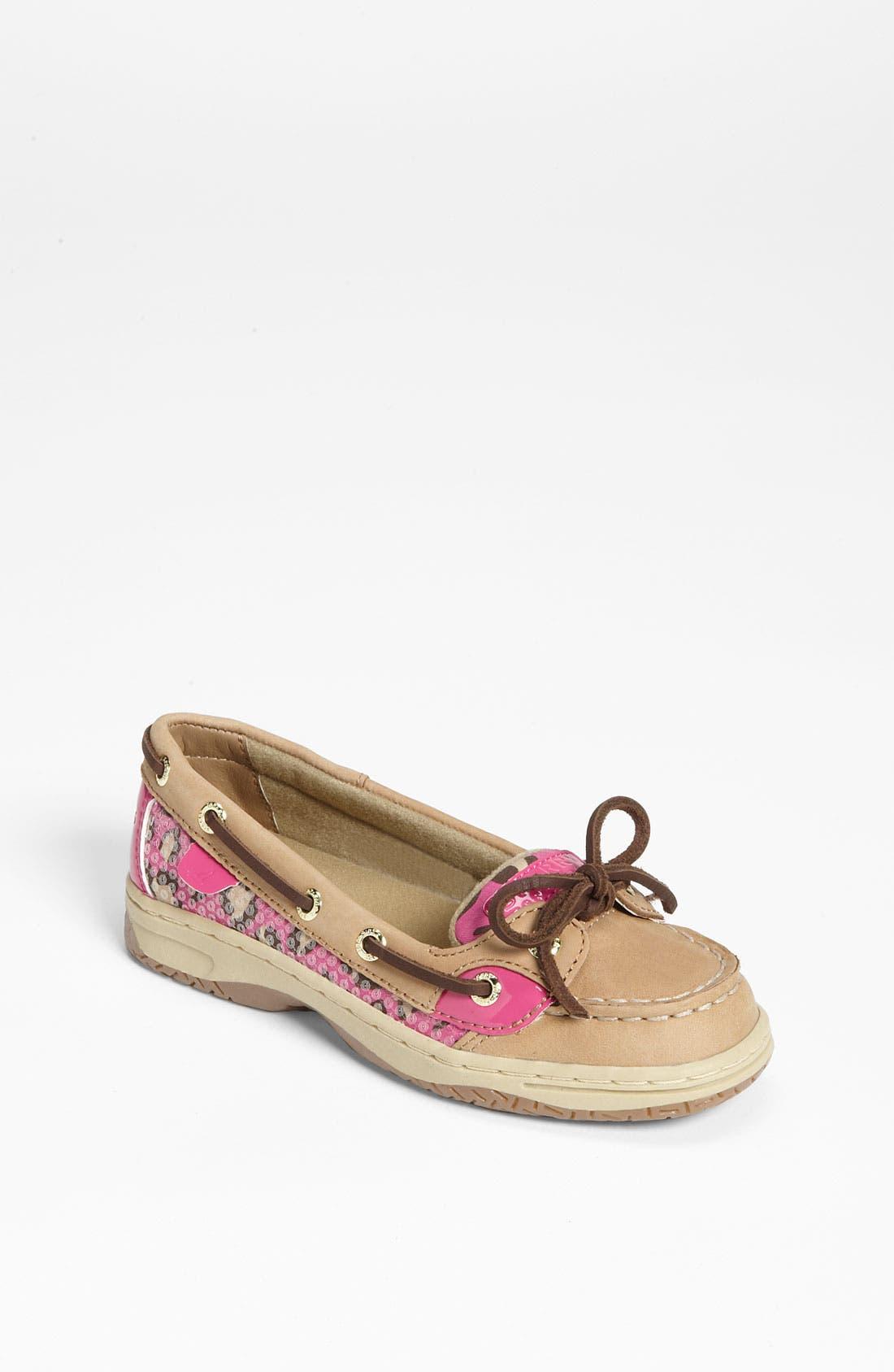 Main Image - Sperry Top-Sider® 'Angelfish' Boat Shoe (Toddler, Little Kid & Big Kid)