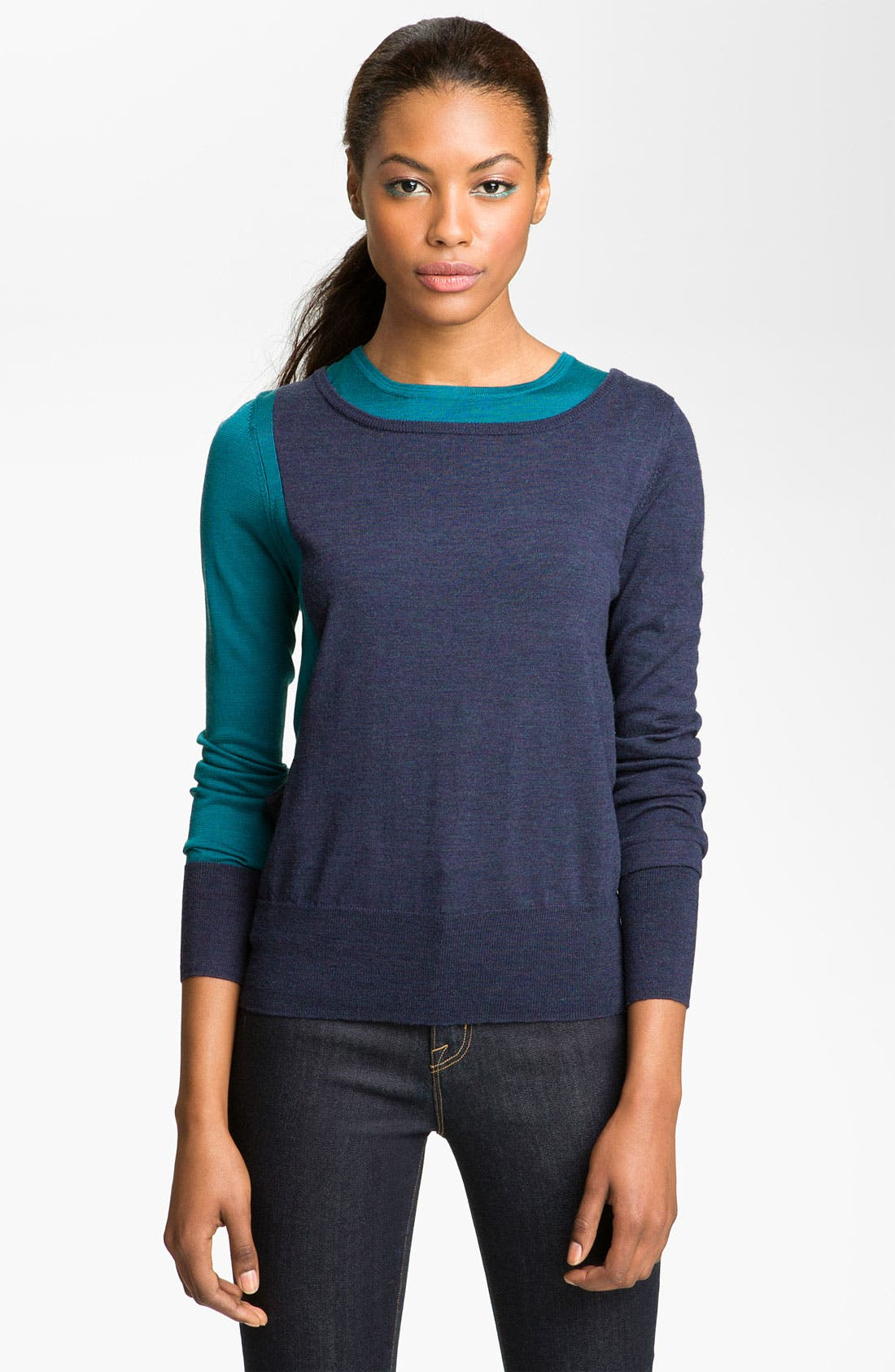Alternate Image 1 Selected - MARC BY MARC JACOBS 'Yaani' Colorblock Sweater