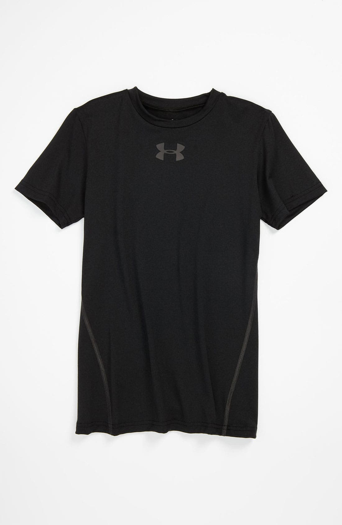Alternate Image 1 Selected - Under Armour 'Touch' Fitted T-Shirt (Big Boys)