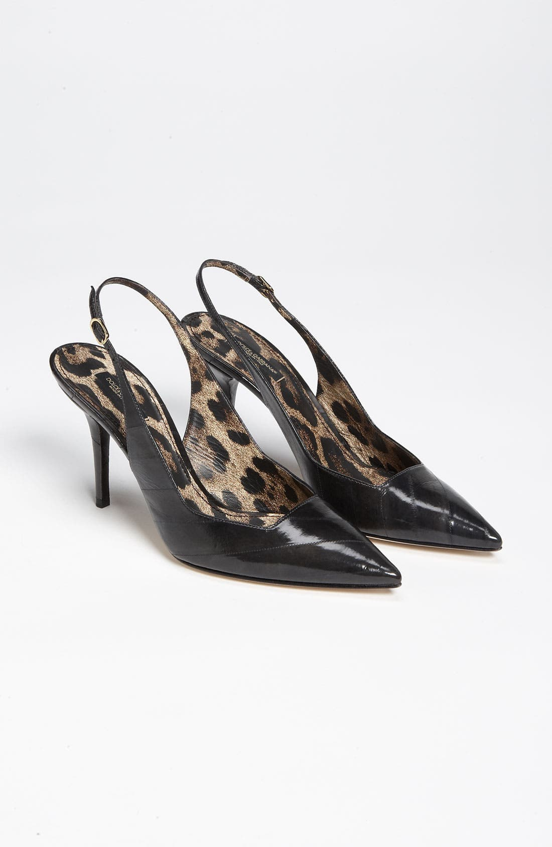 Alternate Image 4  - Dolce&Gabbana Slingback Pump (Nordstrom Exclusive)