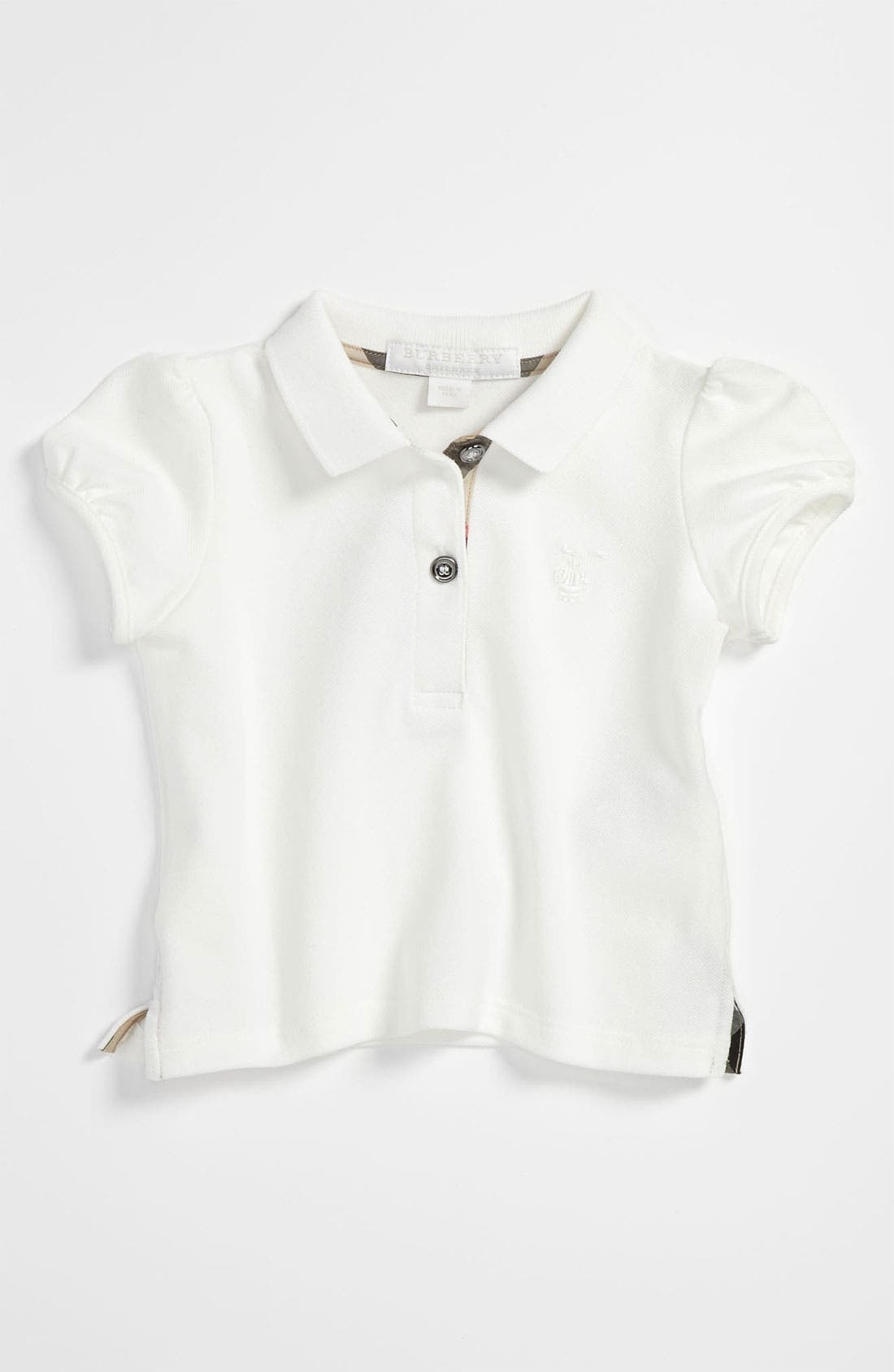Main Image - Burberry Knit Top (Infant)