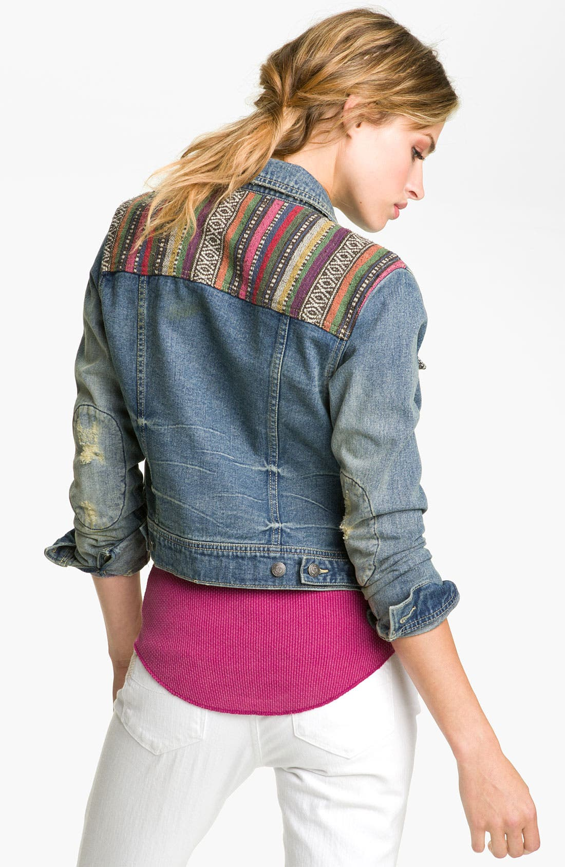 Alternate Image 2  - Free People 'Baja' Denim Jacket